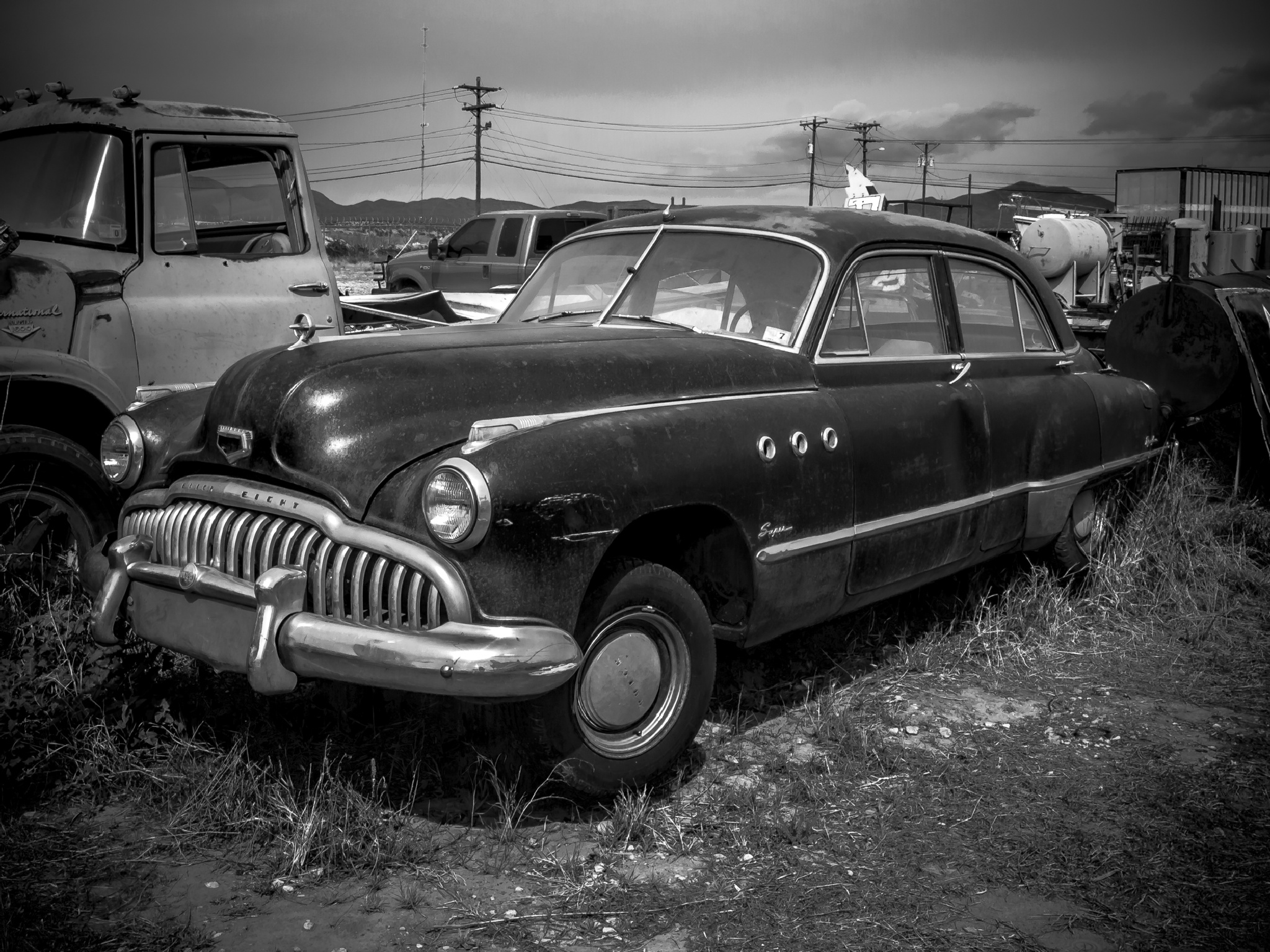 Old Buick by Robert Brown