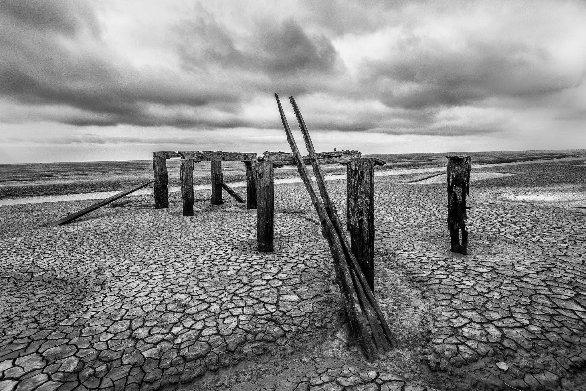 Sea ruin by Gary Billson