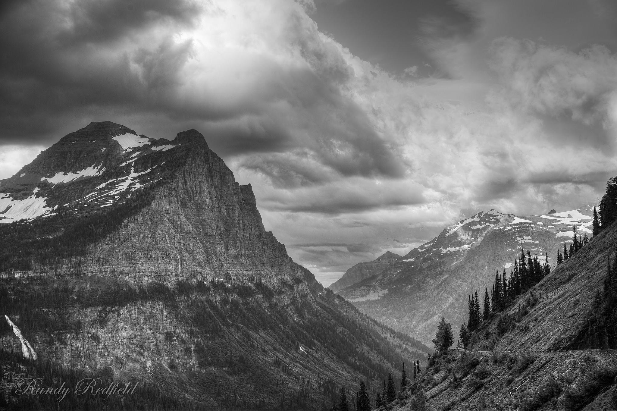 Glacier park by Randy Redfield