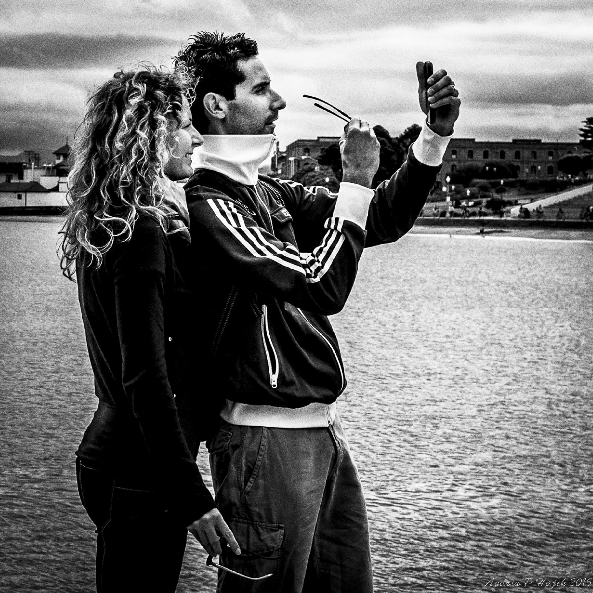 San Francisco Selfie by HajekPhotography