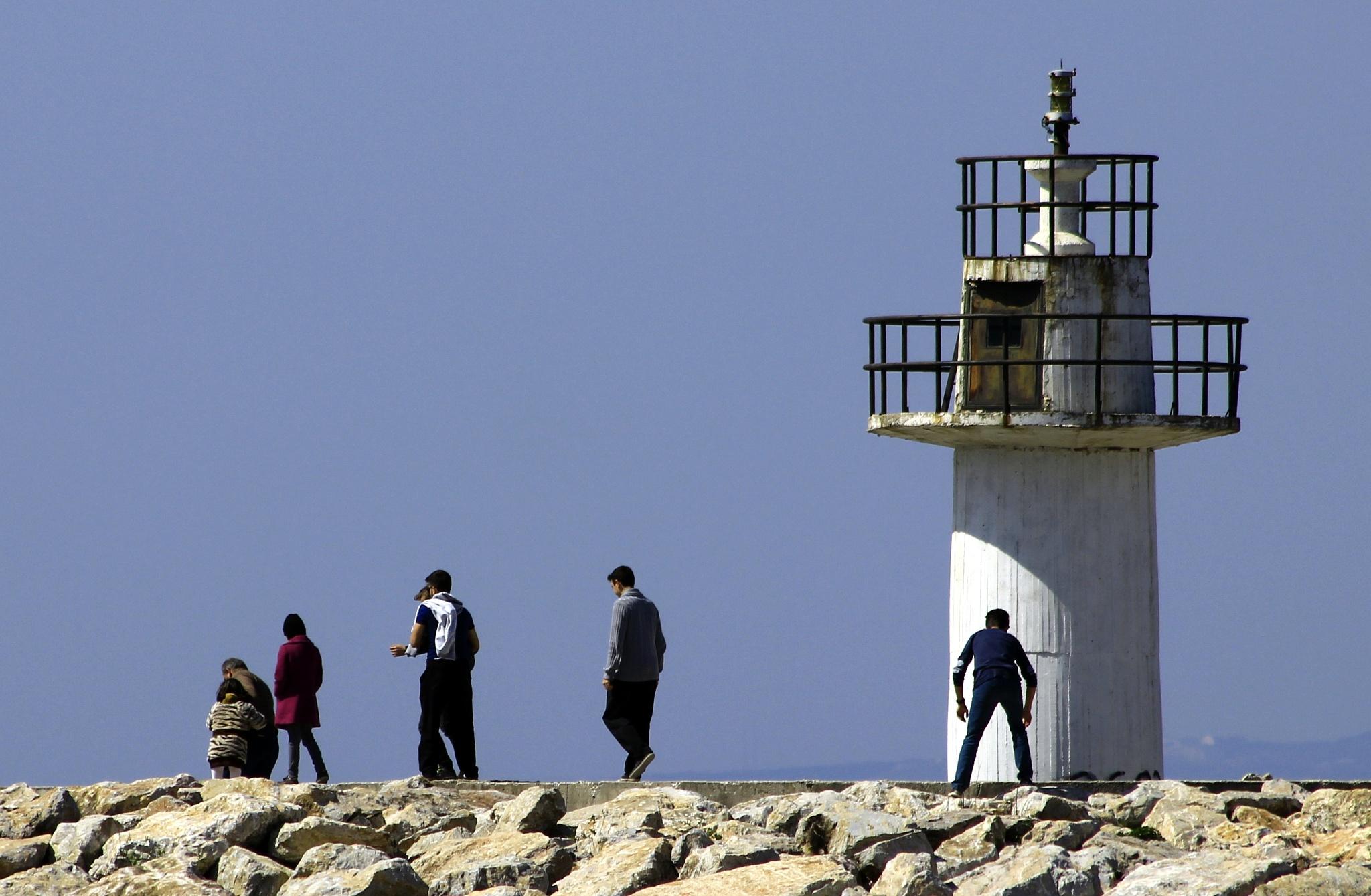 Lighthouse by Erdoğan ORÇİN