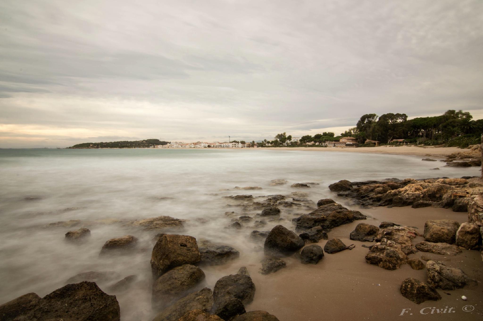 Playa Torredembarra by FCivit