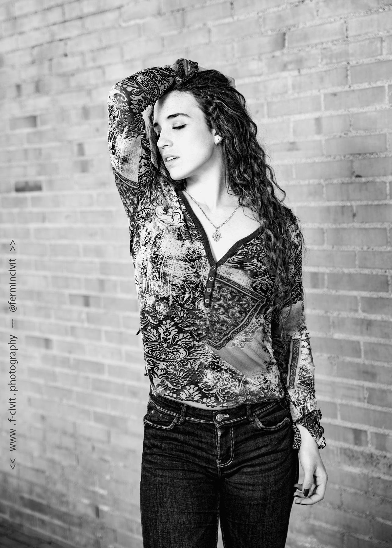 Photo in Black and White #portrait #b&w