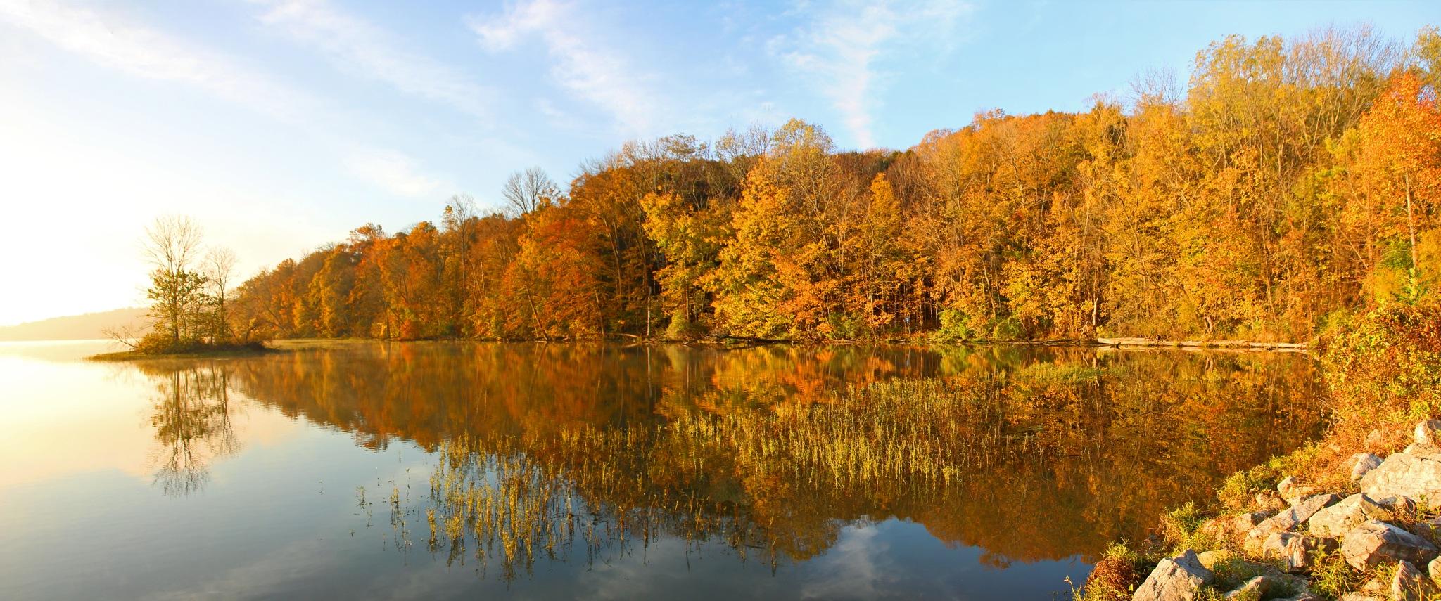 October Panorama by Virgil Seger