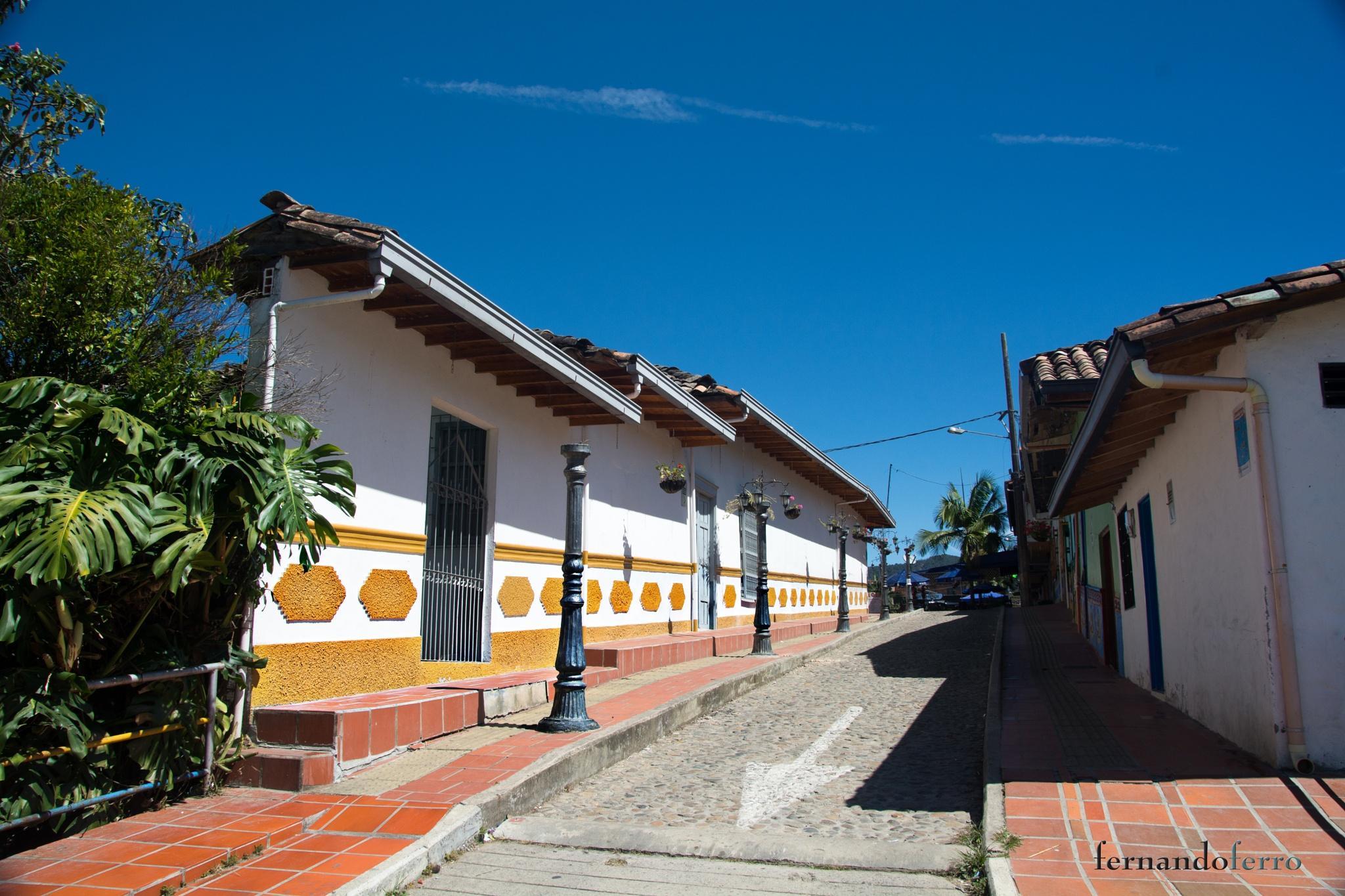 el pueblo de los zócalos by FERNANDO FERRO