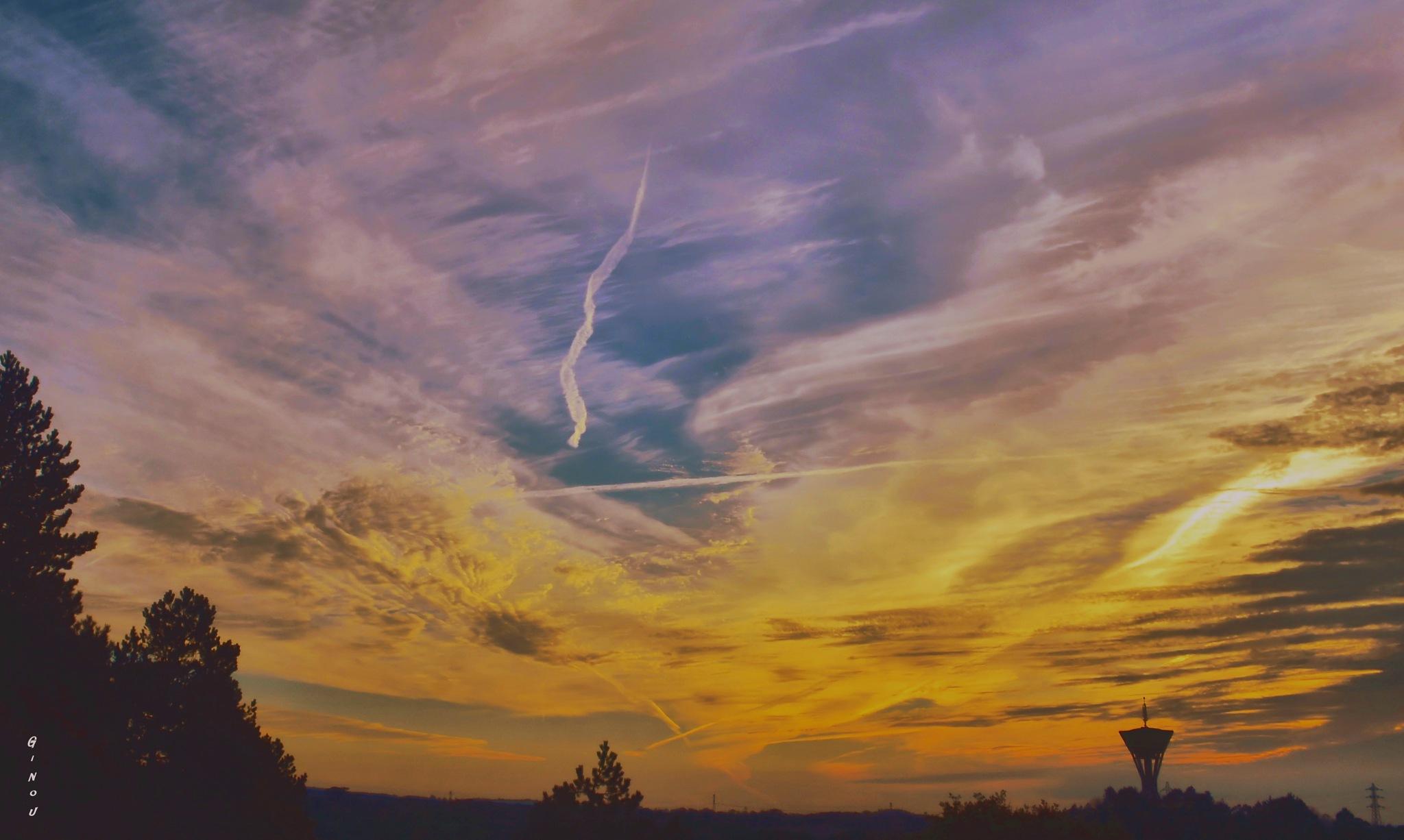 Rien qu'un ciel... by Creusson Ginette