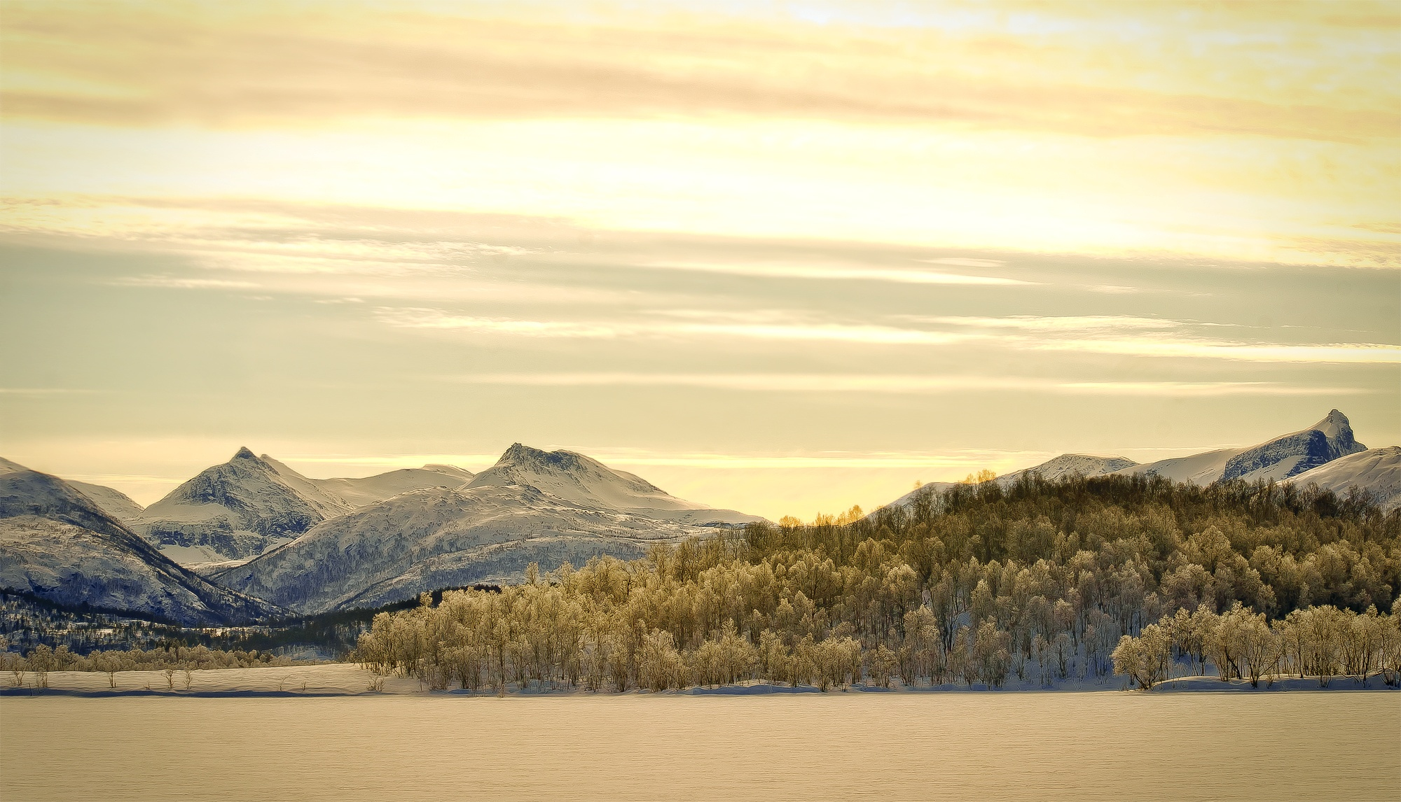 The serenity by John Frost-bite Slettjord