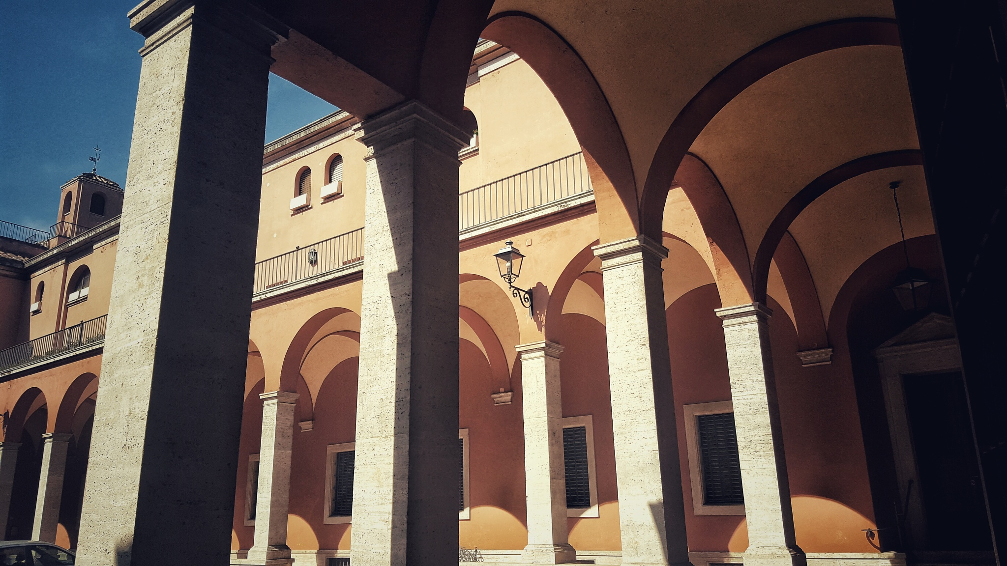 Cloister in Rome by Sergio Cavaliere
