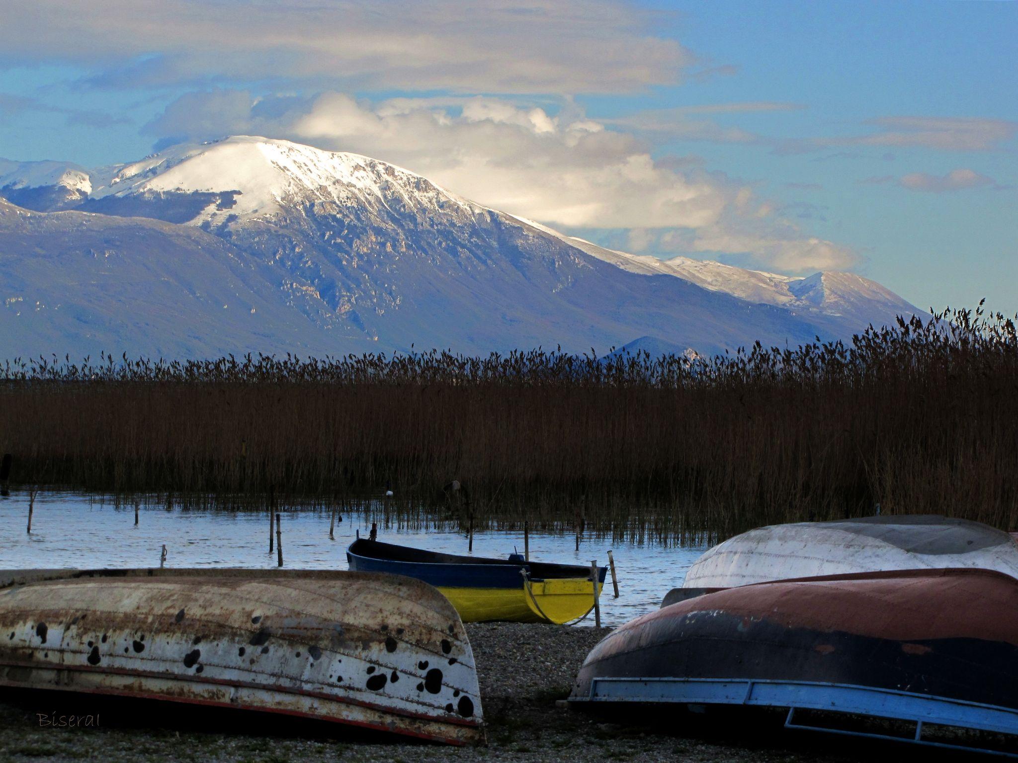 Galičica Mountain by BiseraI
