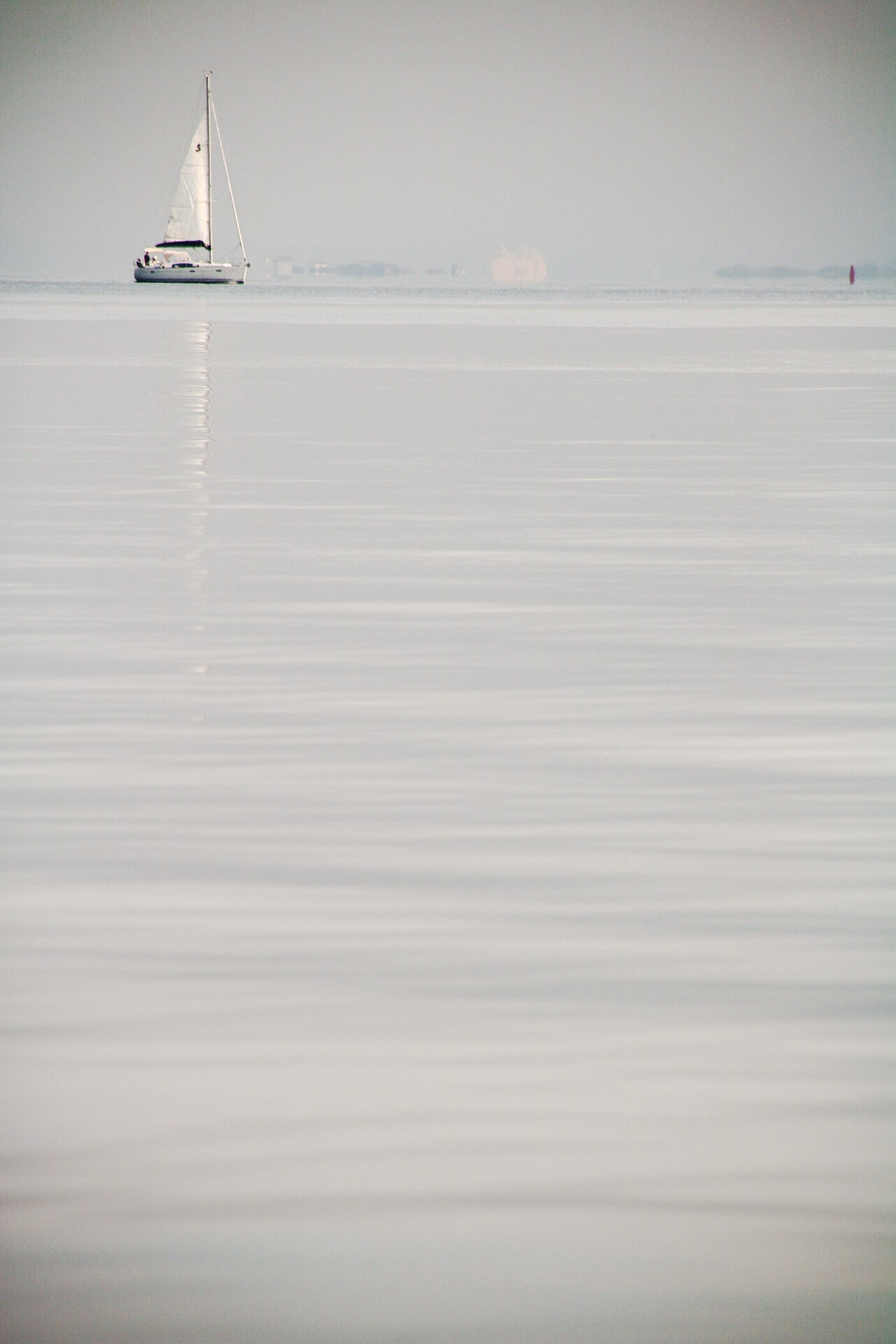 Sailing in the mist by RoarPhoto