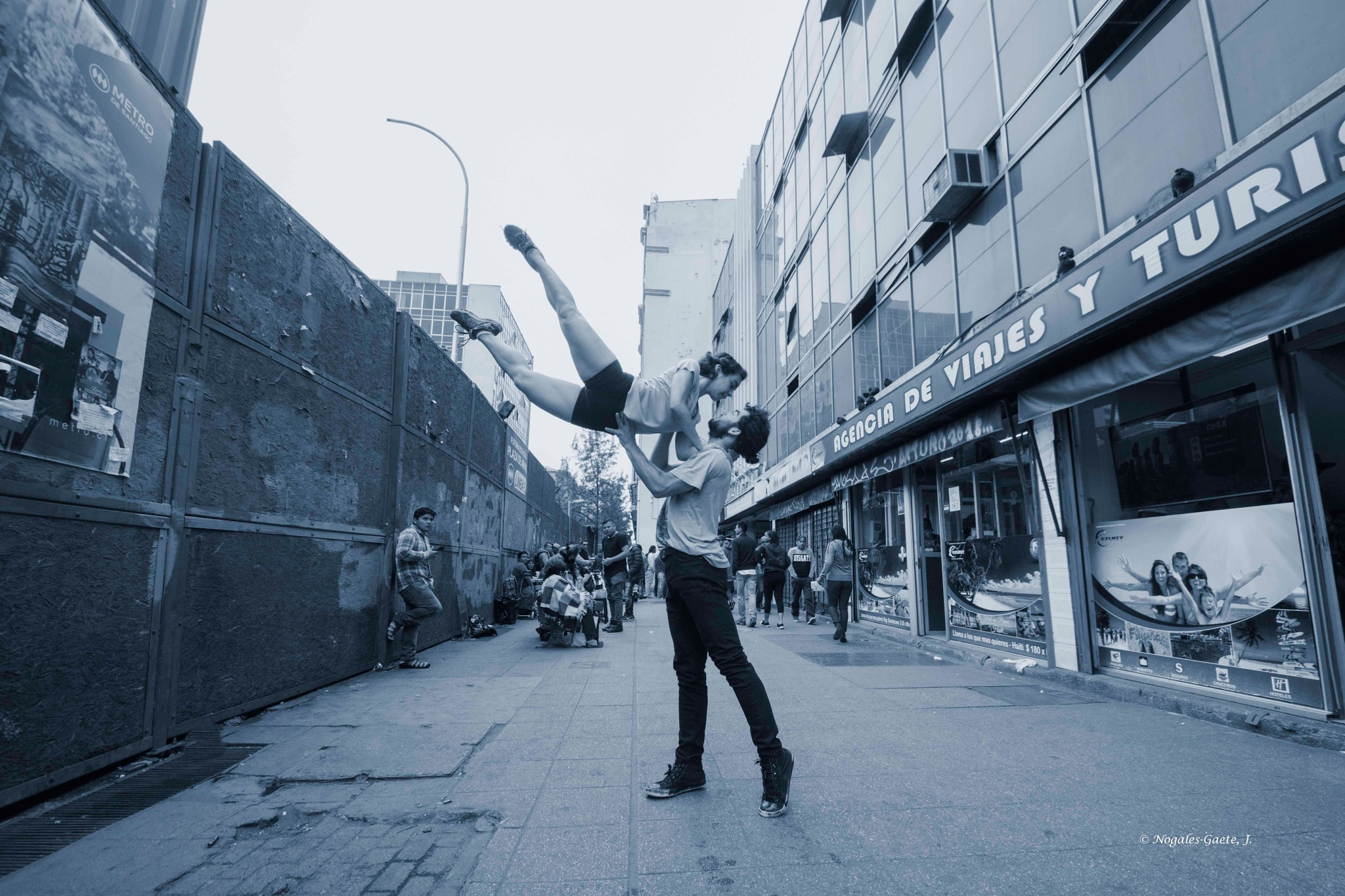 The art of dance in urban spaces (1) by Jorge Nogales