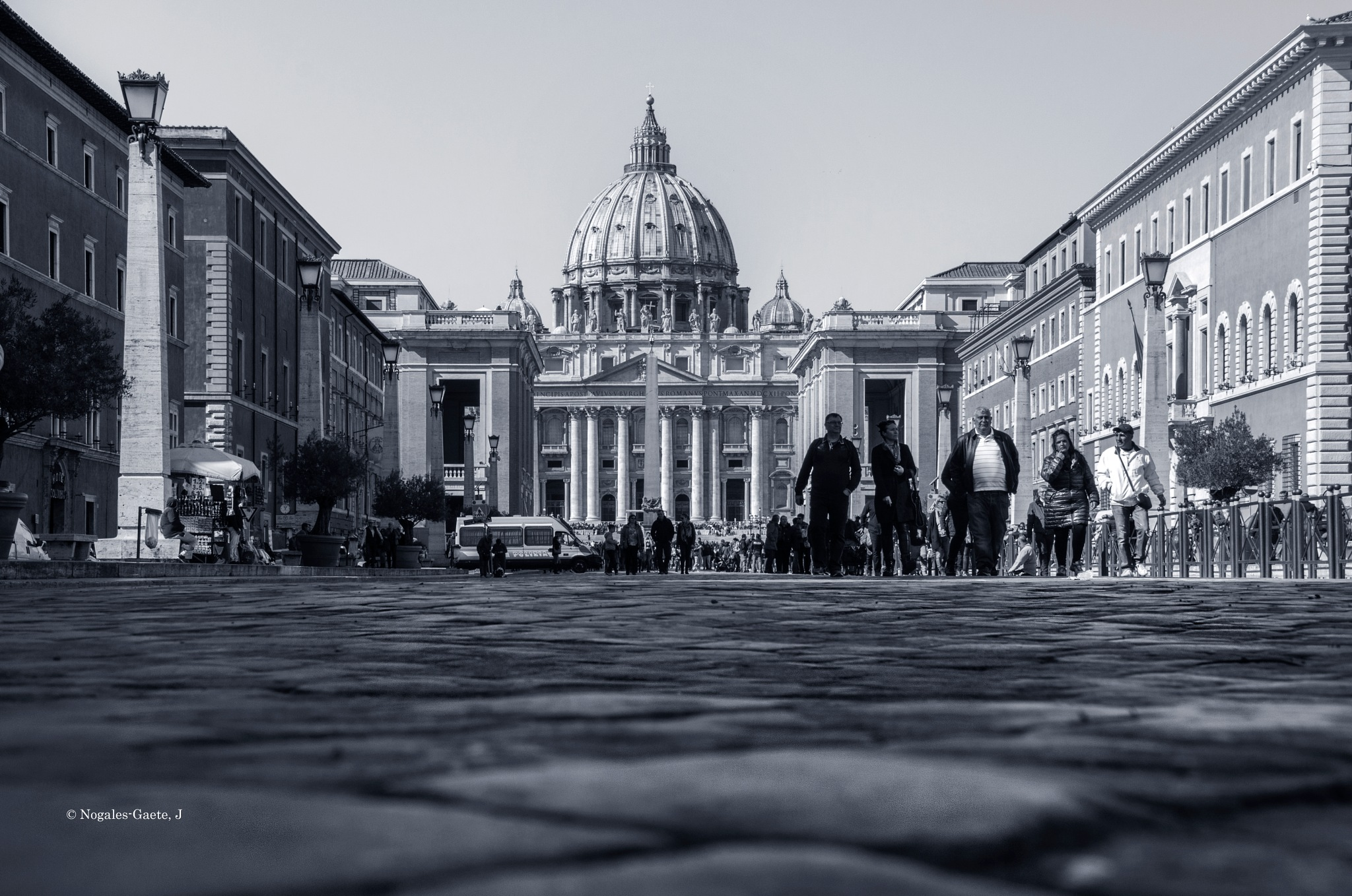 Papal Basilica of St. Peter in the Vatican (2) by Jorge Nogales