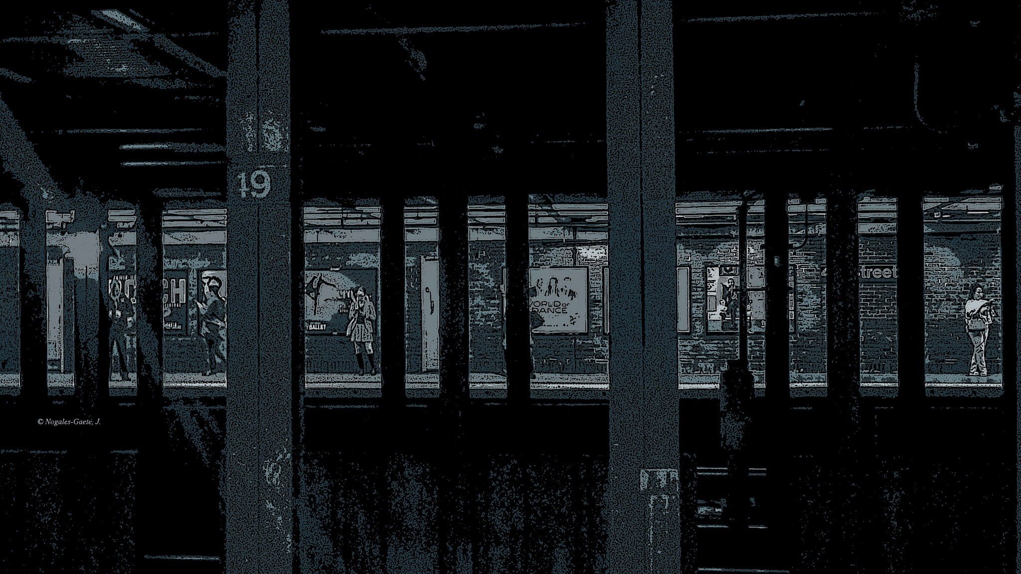 NY - Metro Station by Jorge Nogales