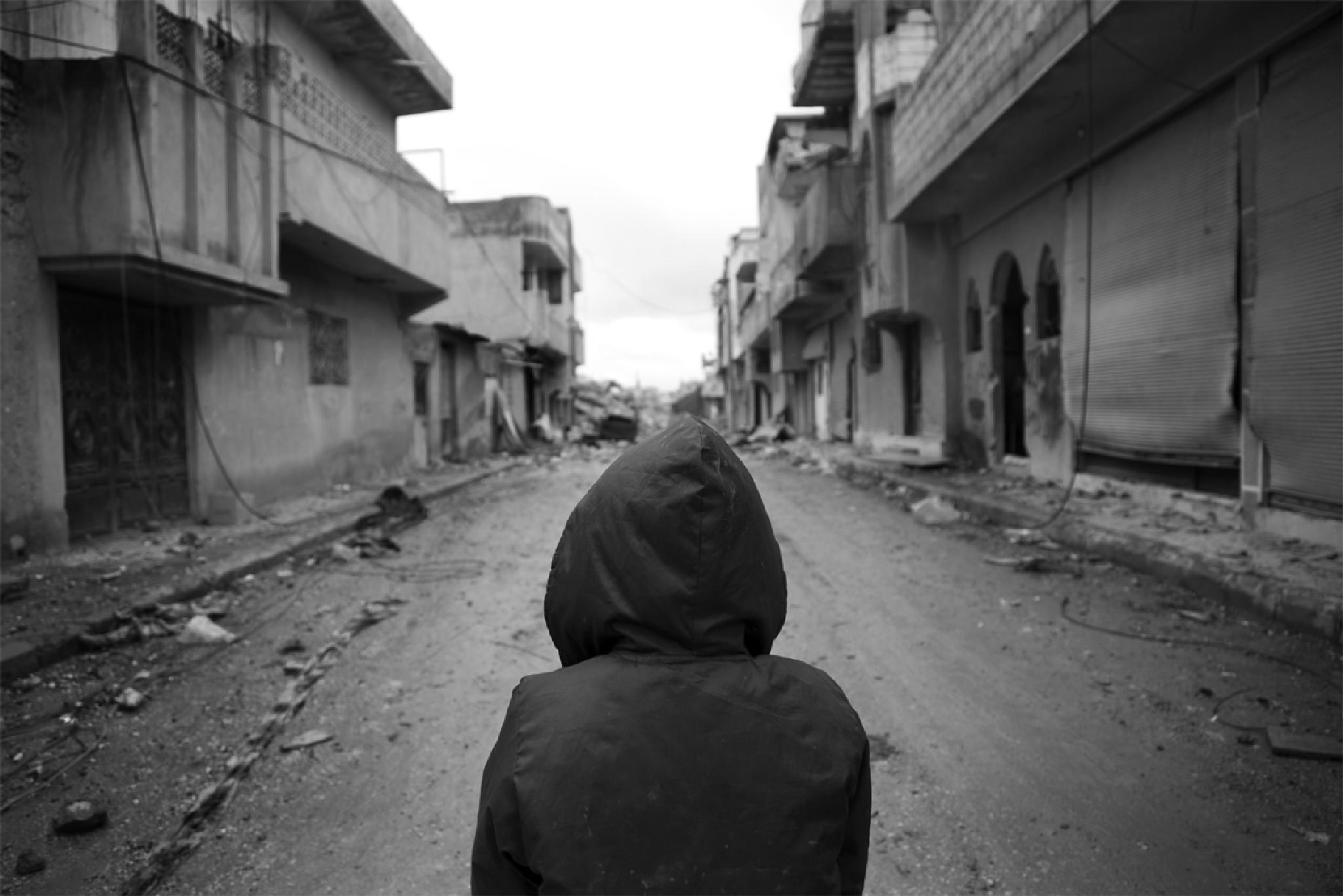 Photo in Fine Art #war #kobane #b&w