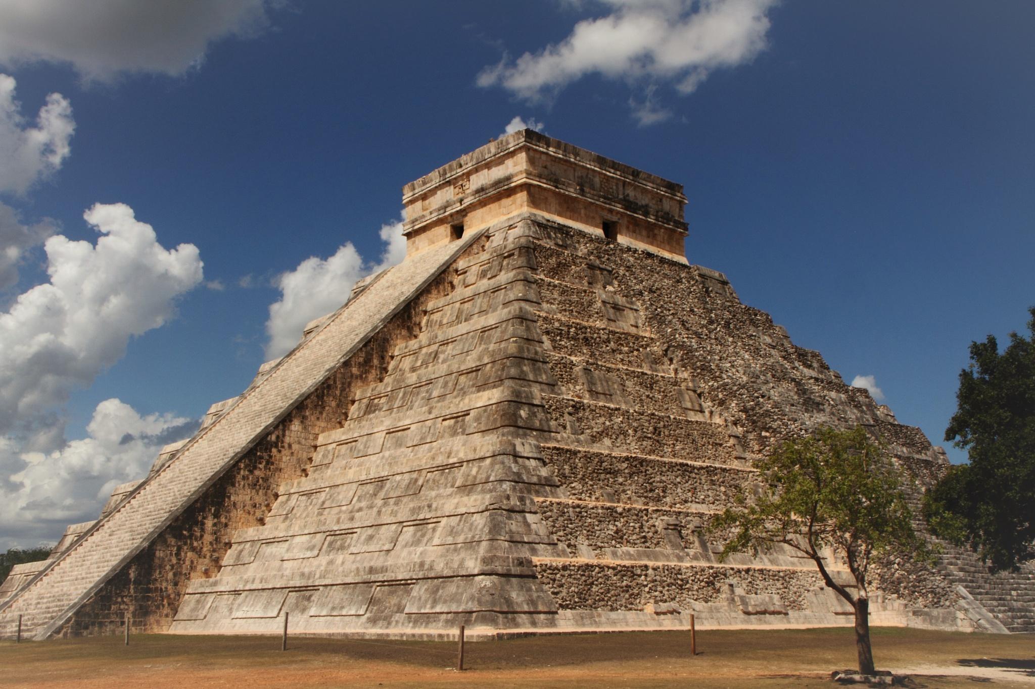 Mayan Pyramid by Blake Fruia