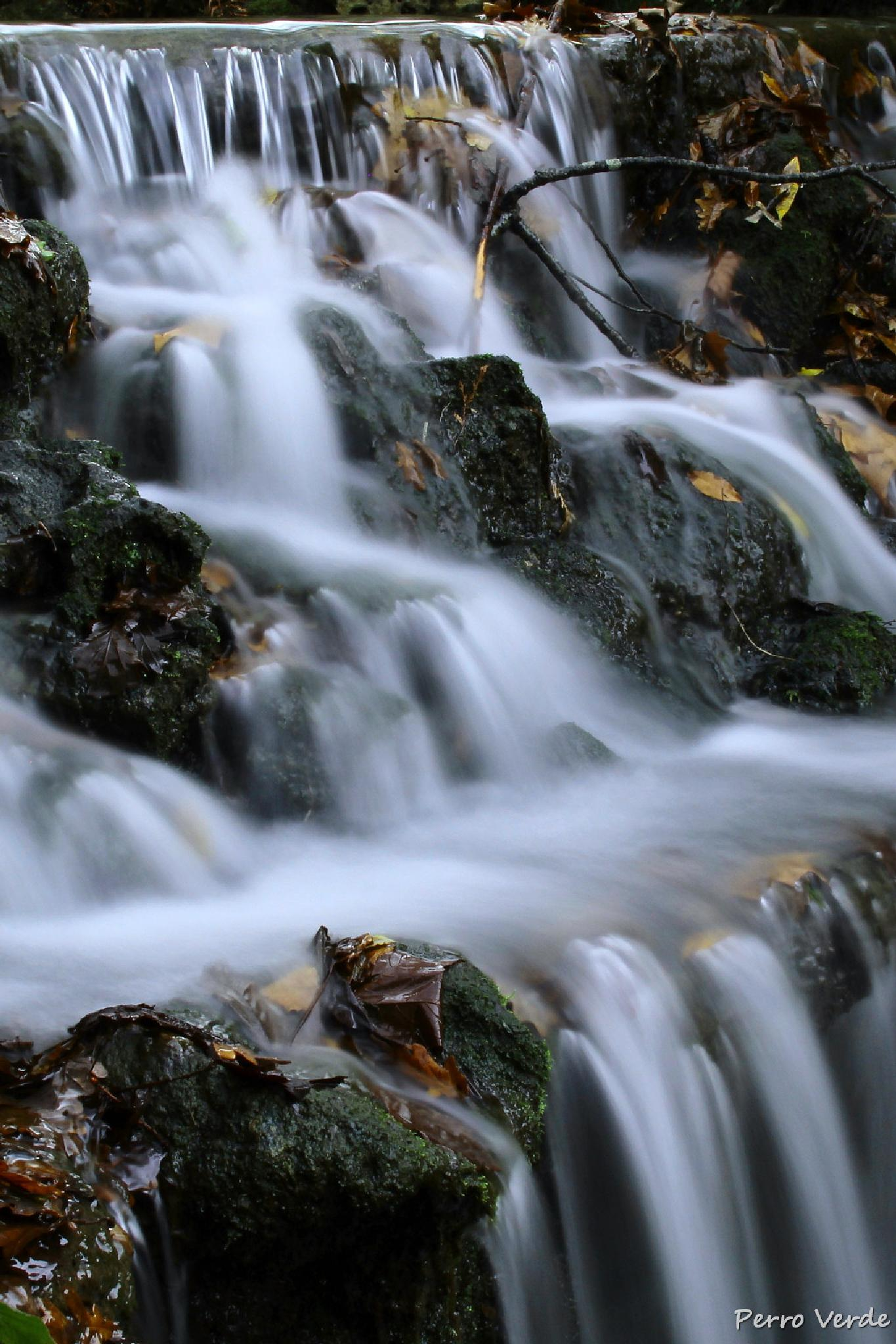 Waterfall by Miguel Rubio