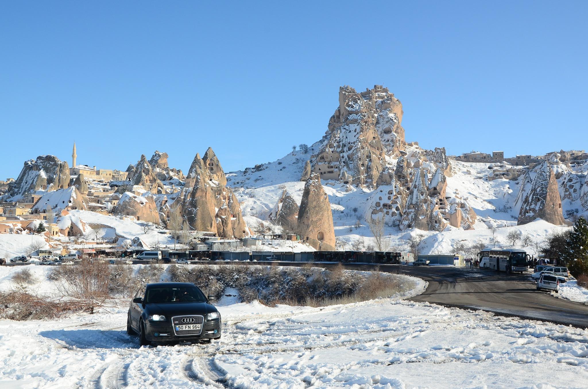 Kapadokyada kış by Aliserit
