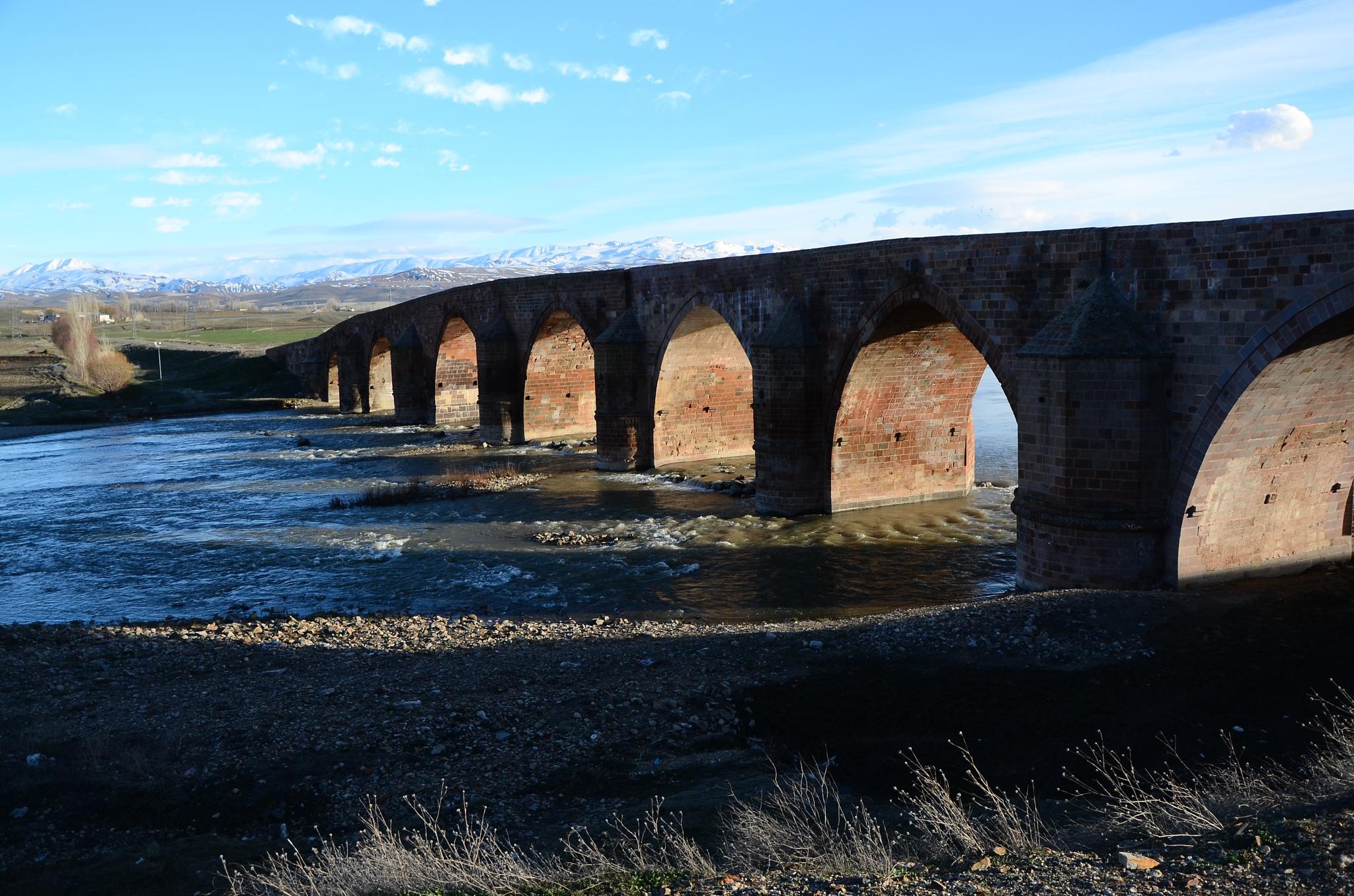 Çobandede köprüsü Erzurum by Aliserit