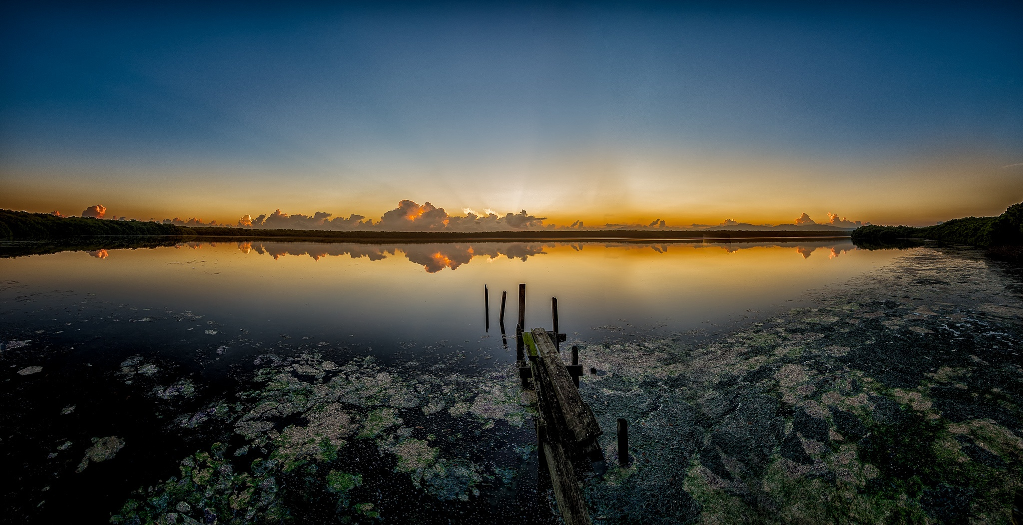 Sunrise at Piñones Puerto Rico by Pedro M. Lopez