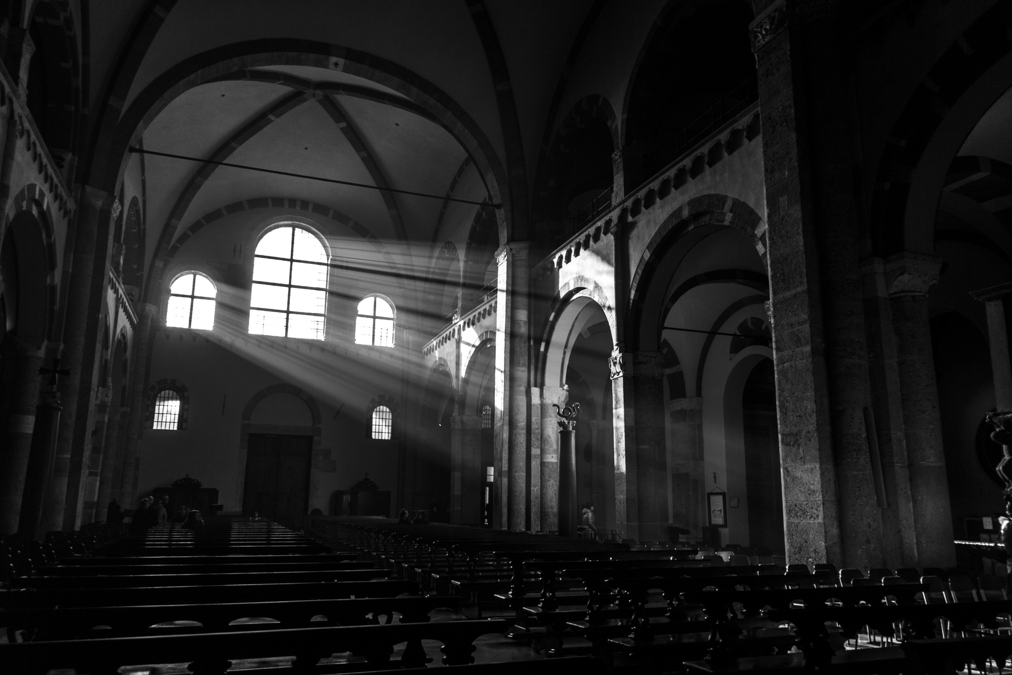 Milan, Basilica di Sant'Ambrogio - 6603 by Storvandre Photography