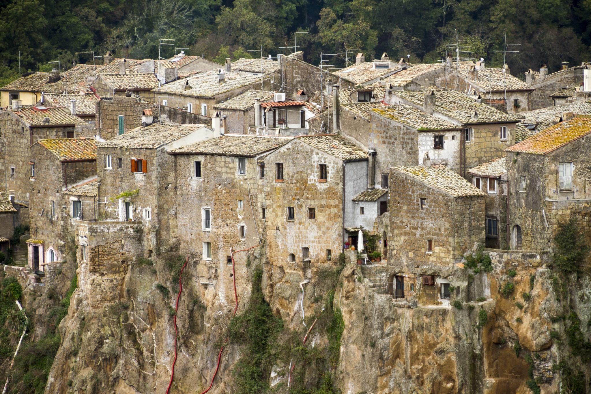 Photo in Rural #calcata #village #rural #italy #rocks