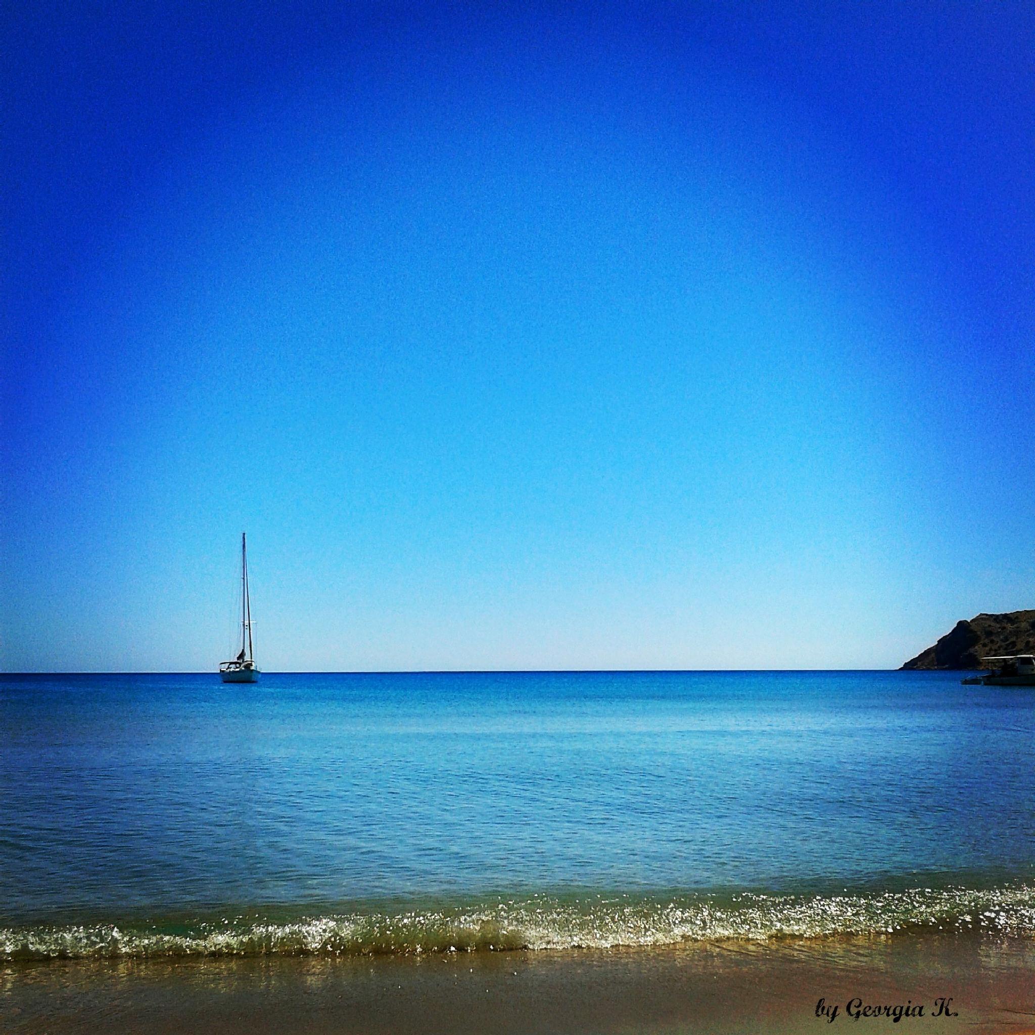sea...Greece  by GeorgiaKom