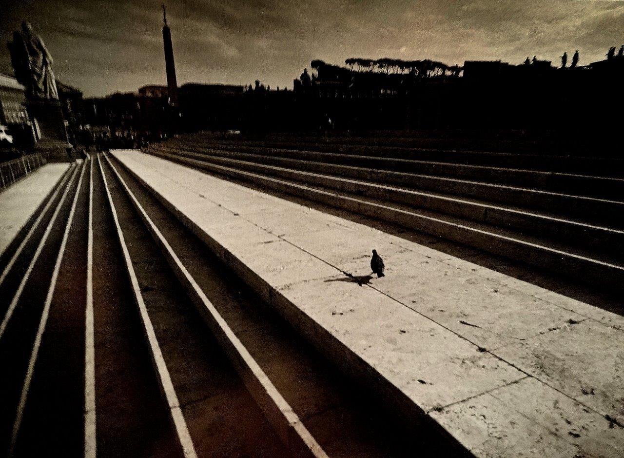 Metaphysical square  by Matteo Venturini