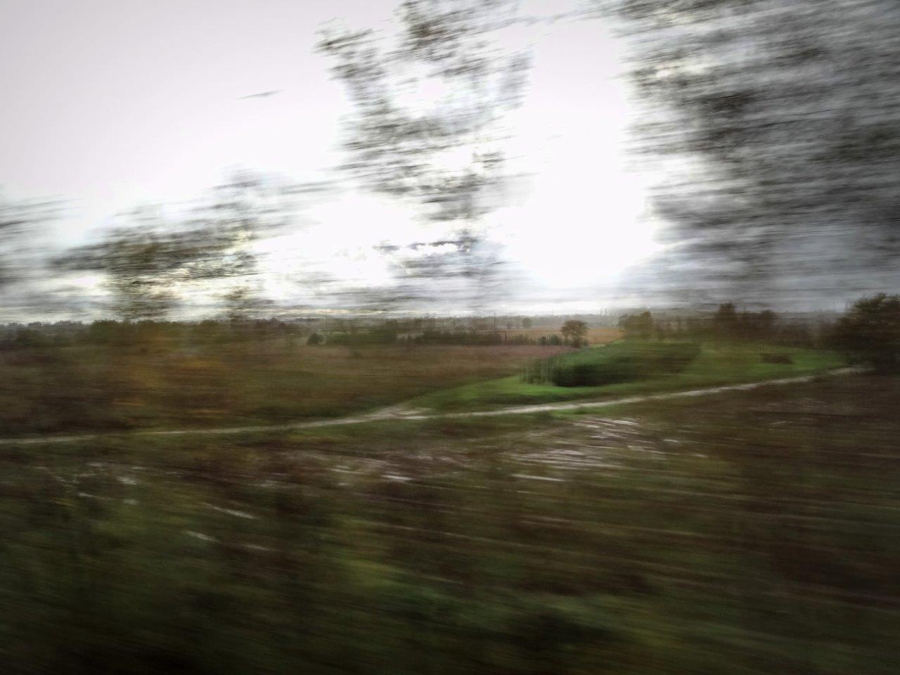 Shapes by train  by Matteo Venturini