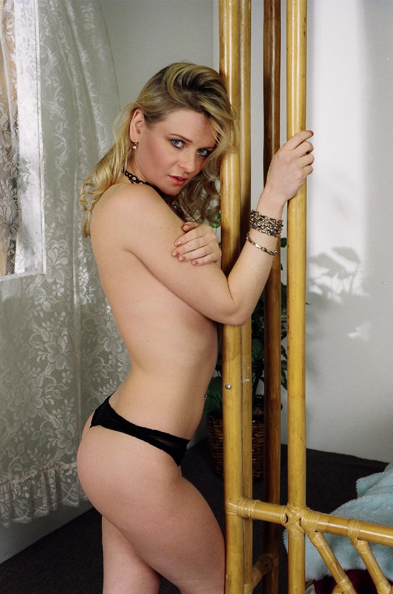 Elizabeth Sexy Lingerie Shoot In Loft Studios by Don Christian