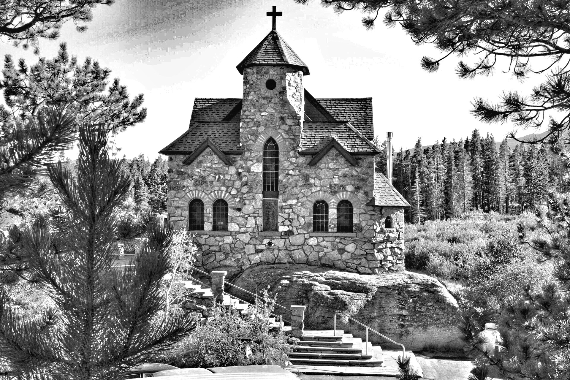 The church by GPS Imaging