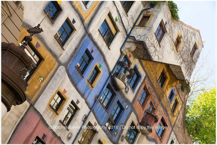 Hundertwasser area, Vienna  by racheleb