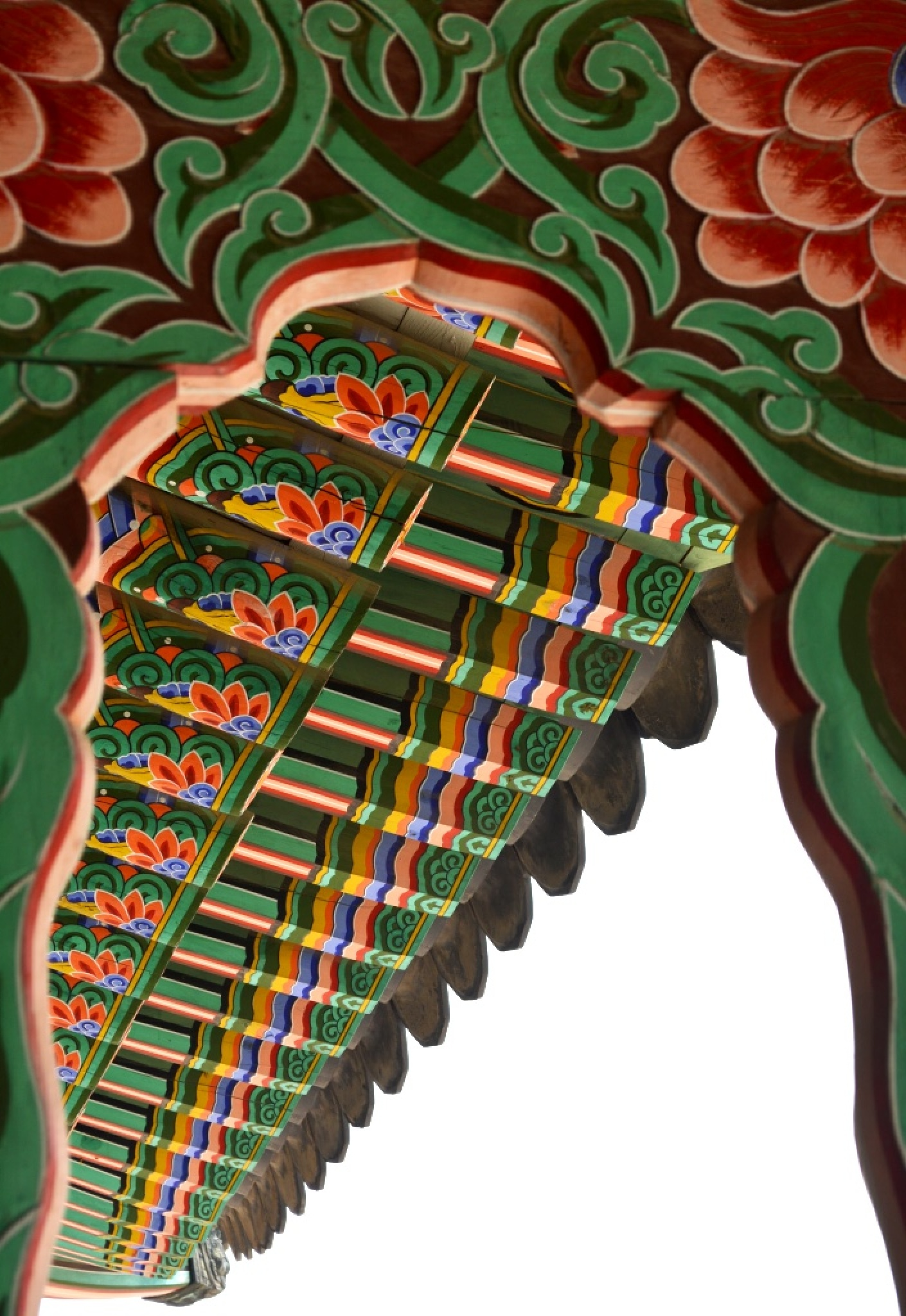Traditional Korean Palace Details 2 by HKS Images