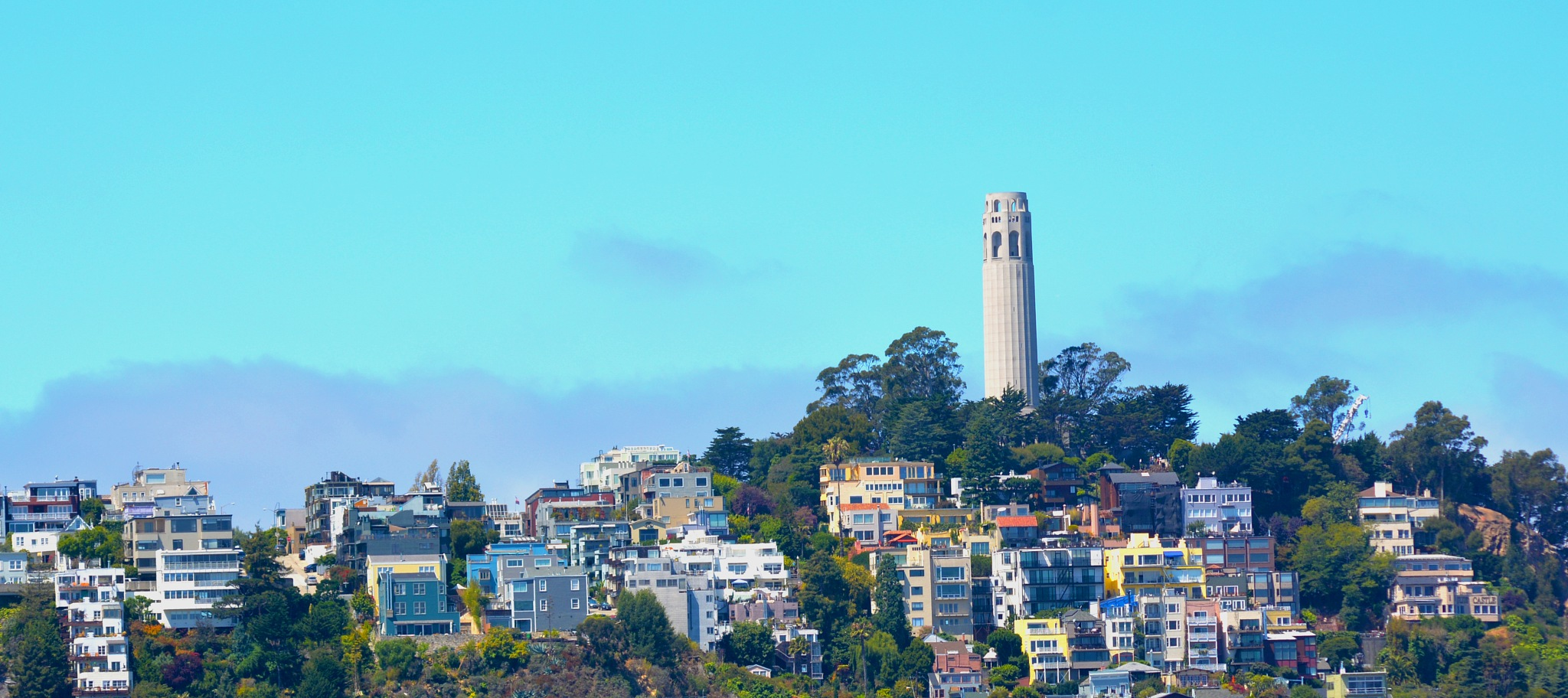 Coit Tower on Telegraph Hill by HKS Images