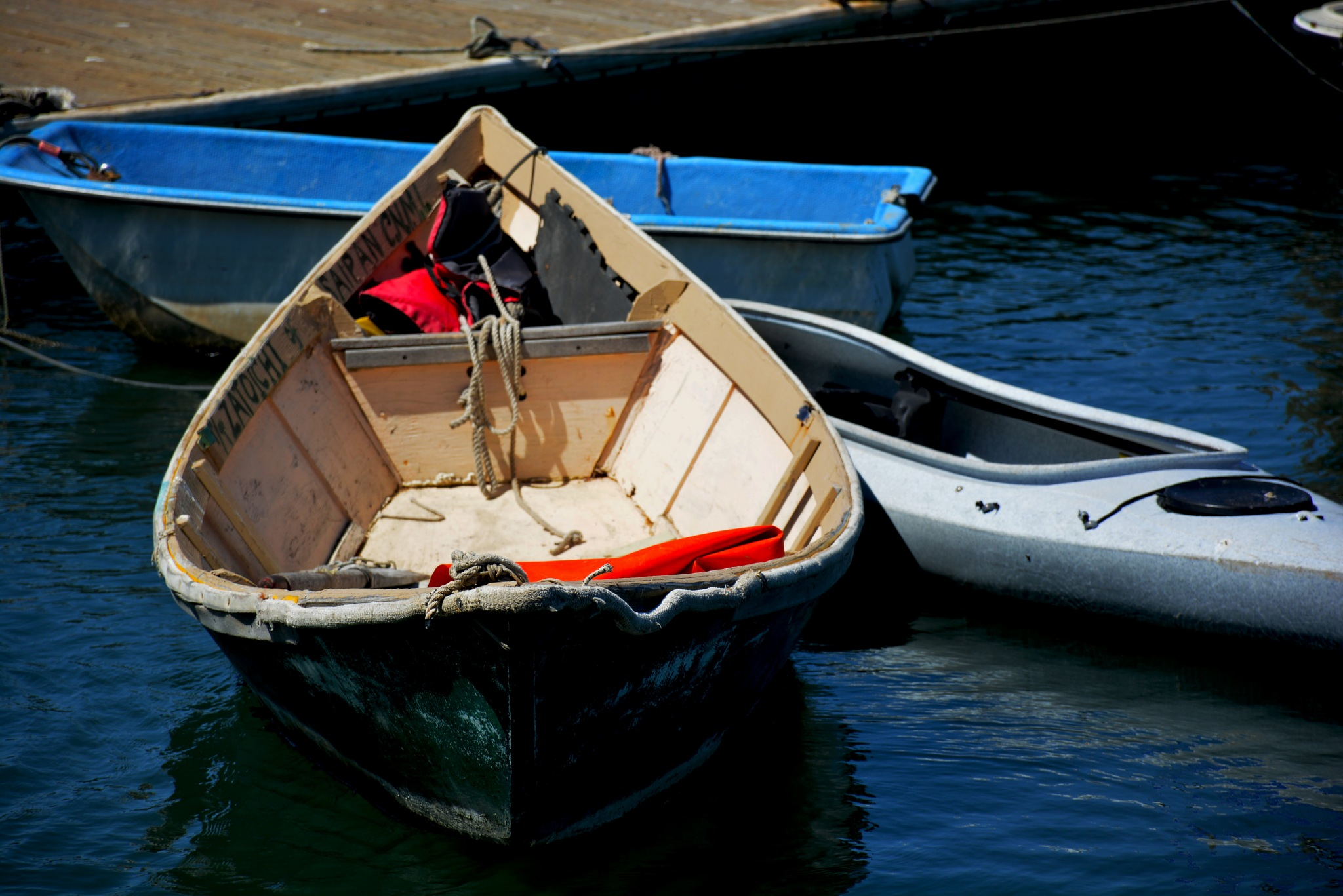 Three Boats by HKS Images