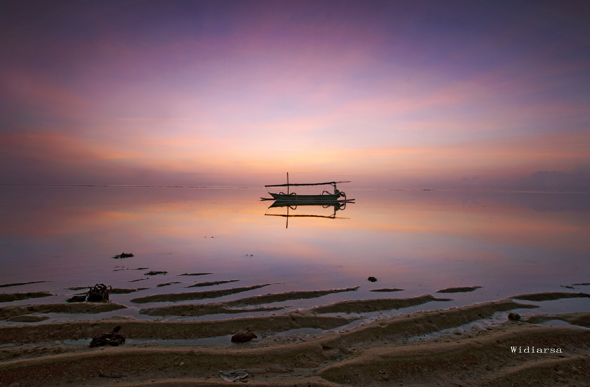 Waiting for Sunrise by Gede Widiarsa