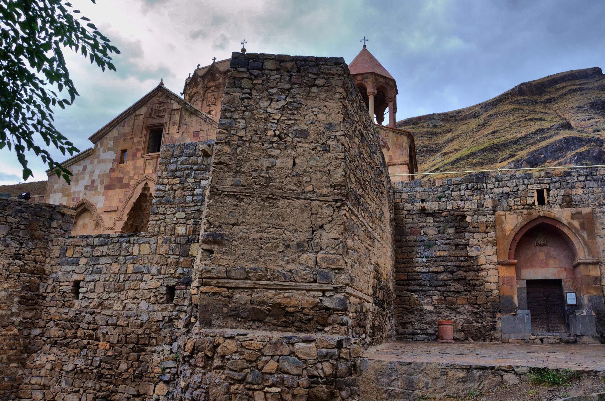 Saint Stepanos Monastery,15 km northwest of Jolfa city, East Azarbaijan Province northwest Iran by muhammadparvizi