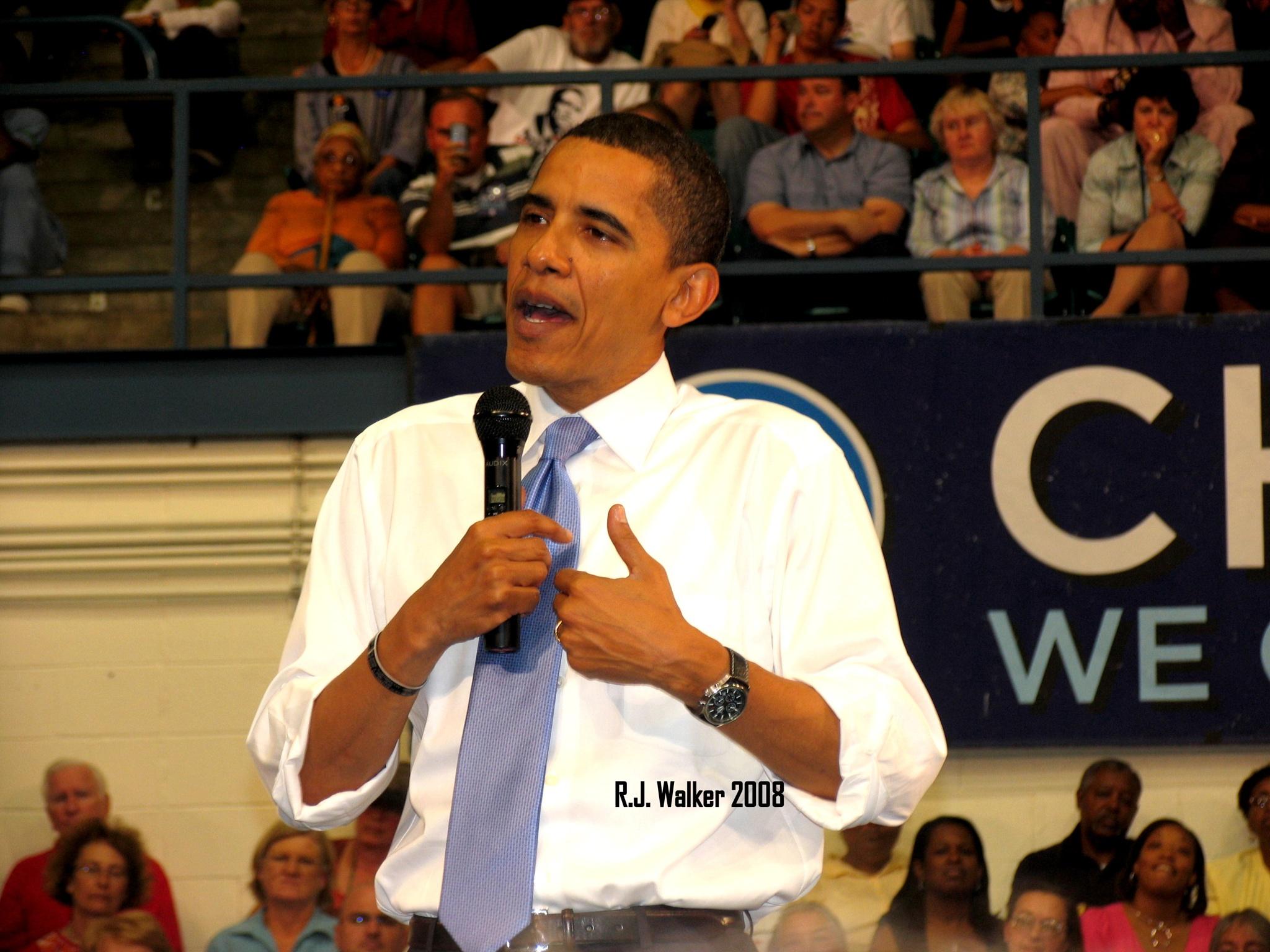 President Obama by R.J. Walker
