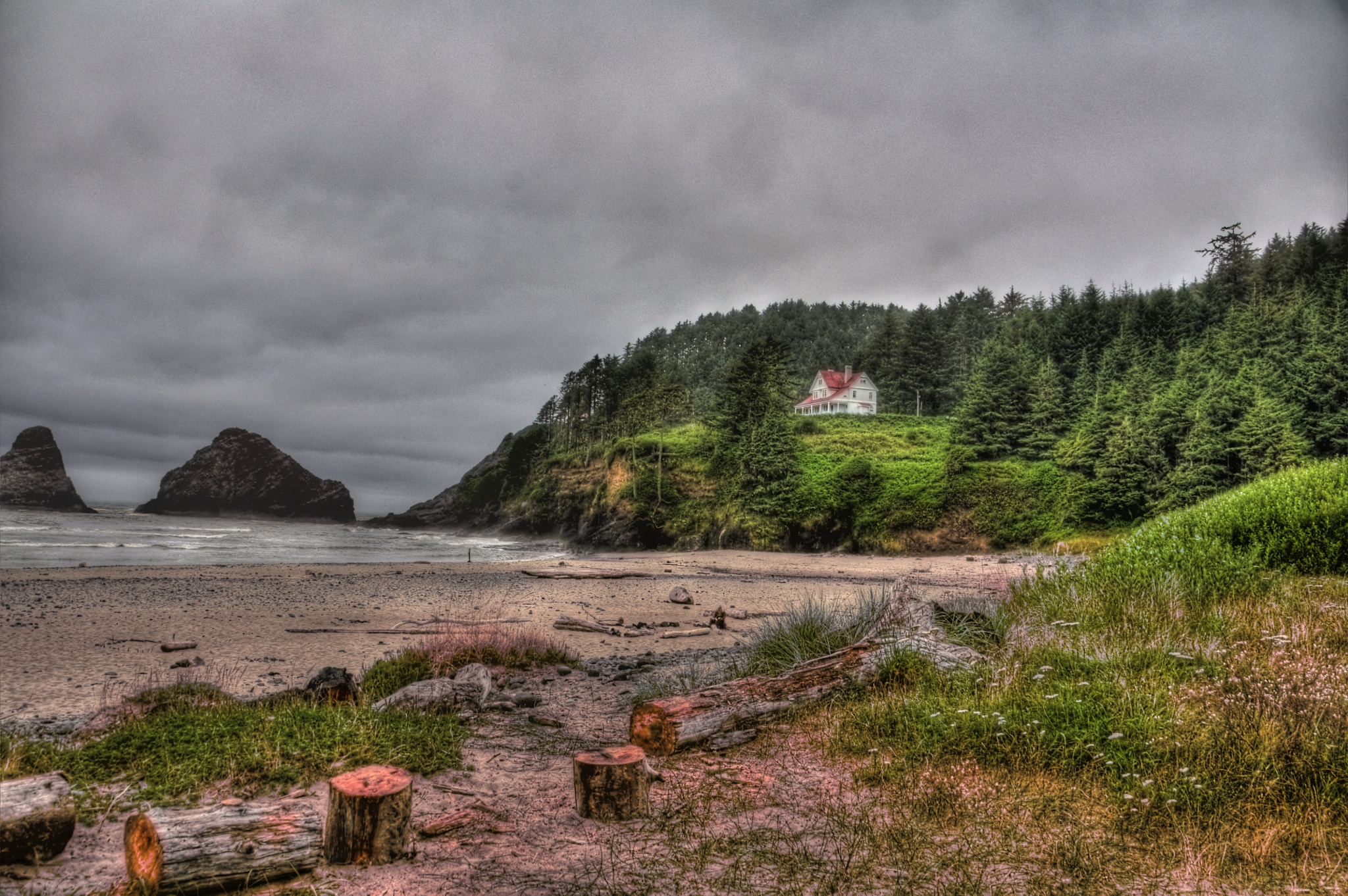 """""""House on The Bluff"""" by PeterMichael"""