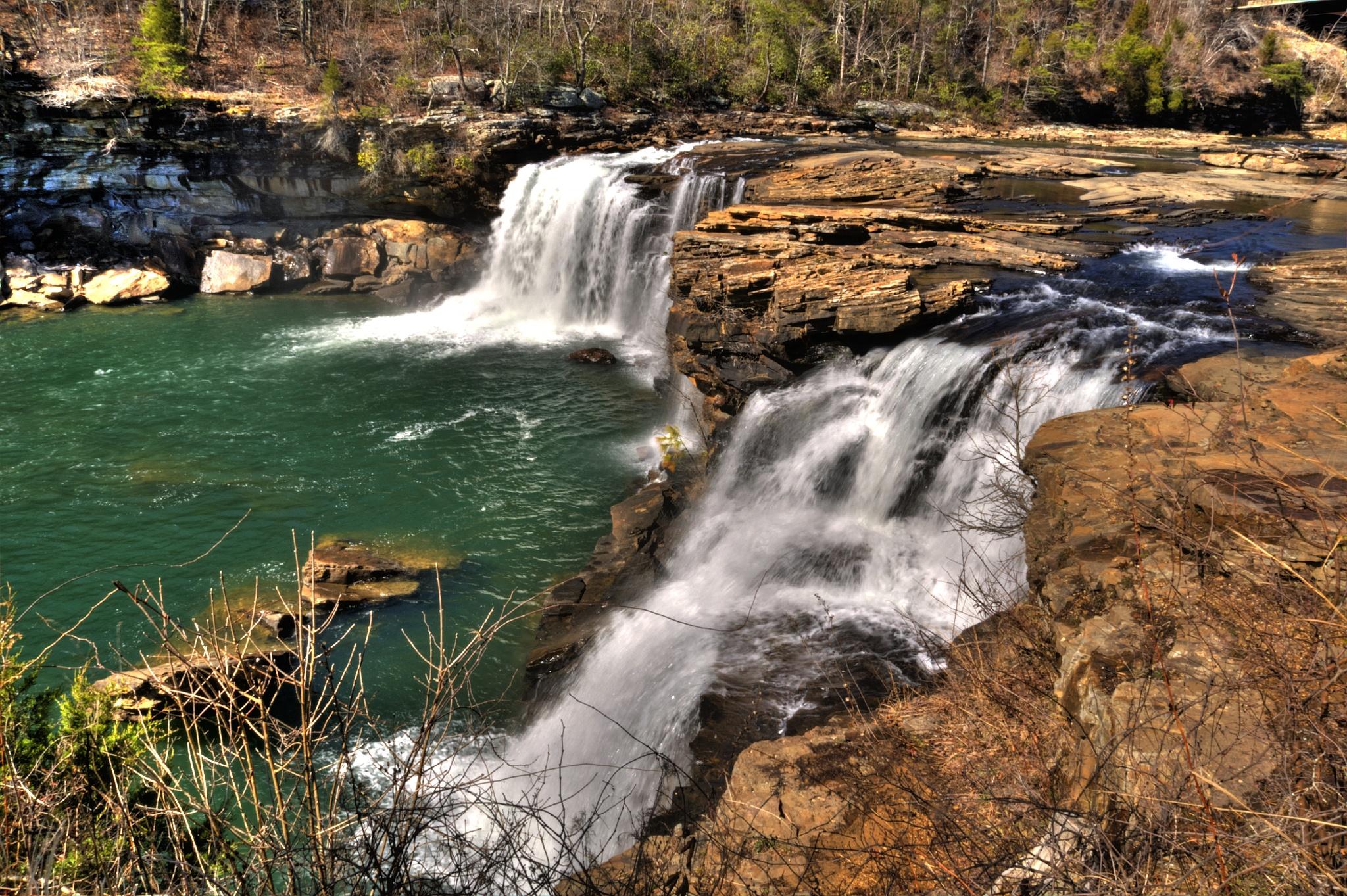 """Little River Falls"" by PeterMichael"