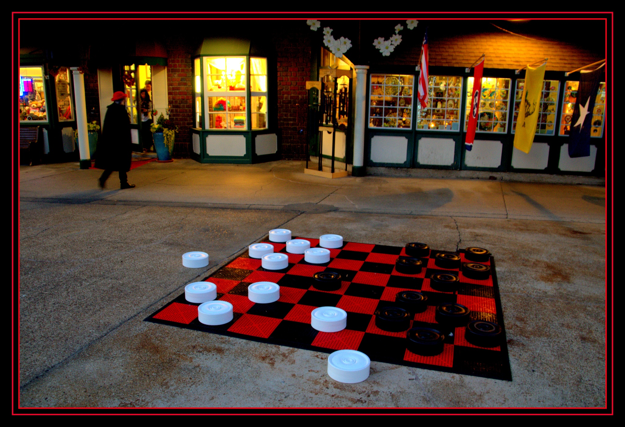 A serious game of checkers by PeterMichael