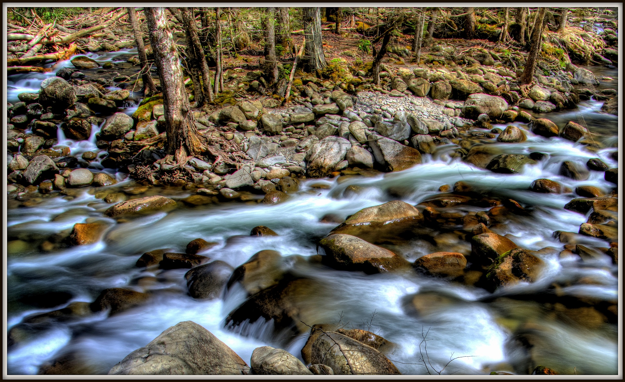 """'Little Pigeon River"""" by PeterMichael"""