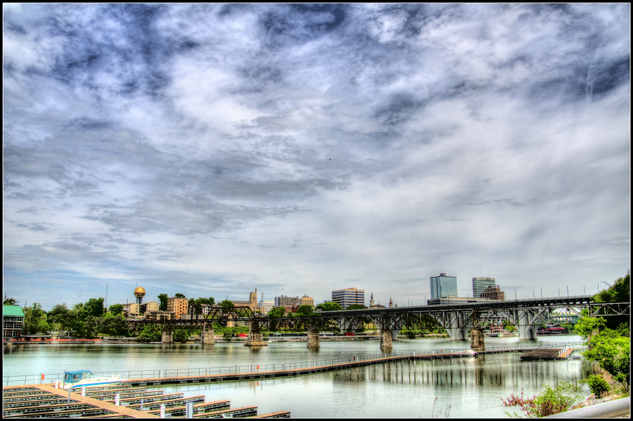 """Knoxville Tn. Skyline"" by PeterMichael"