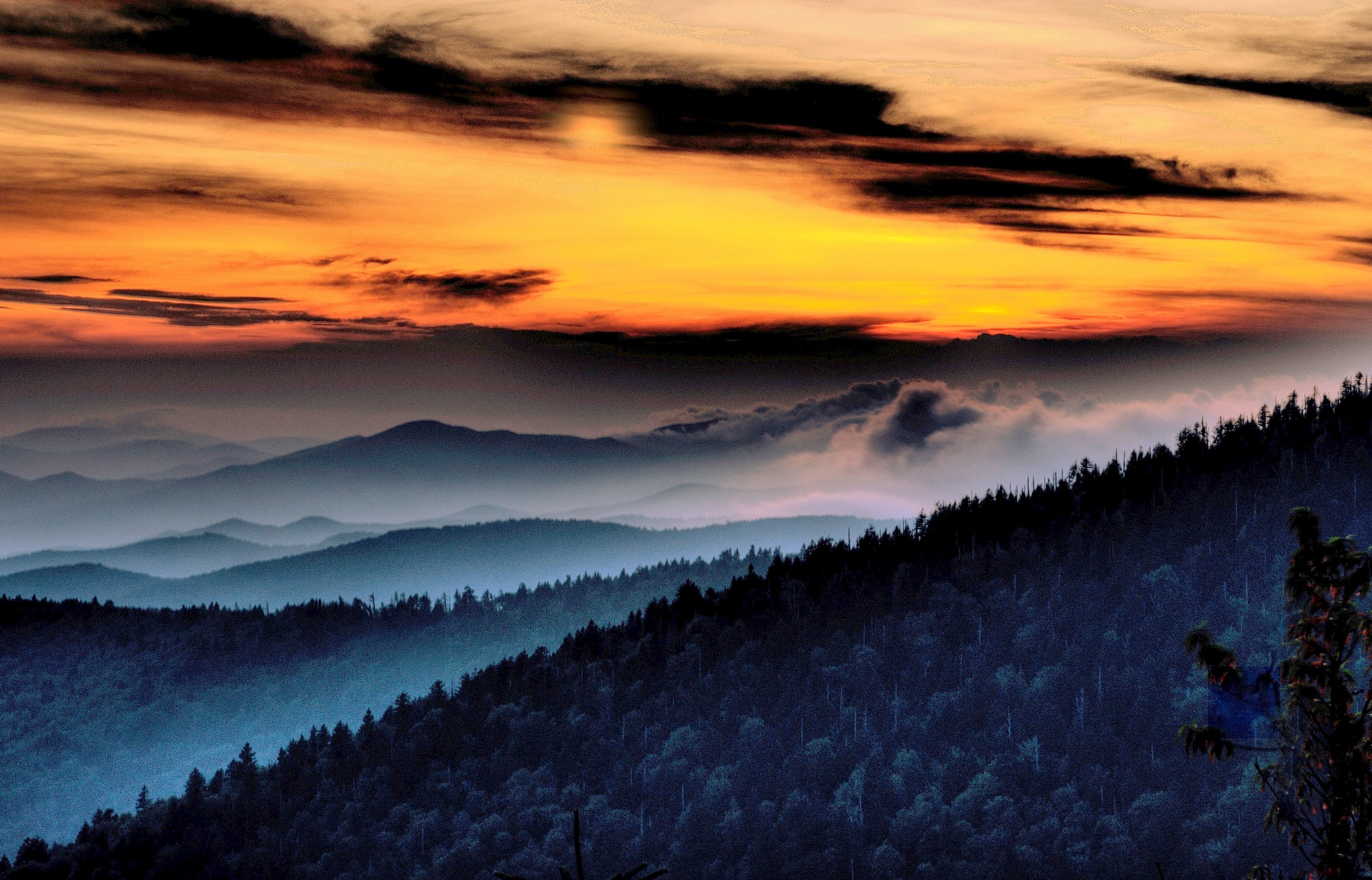 """""""Smoke On The Mountains"""" by PeterMichael"""