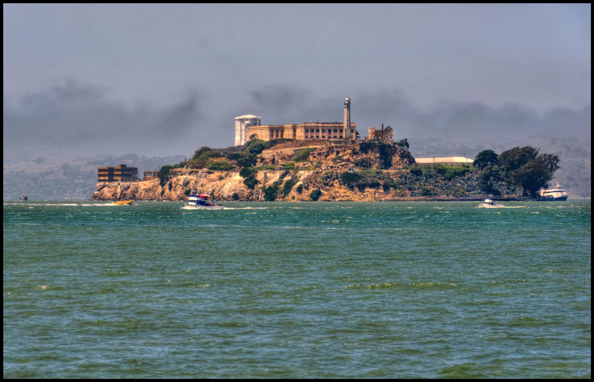 """Alcatraz Island"" by PeterMichael"