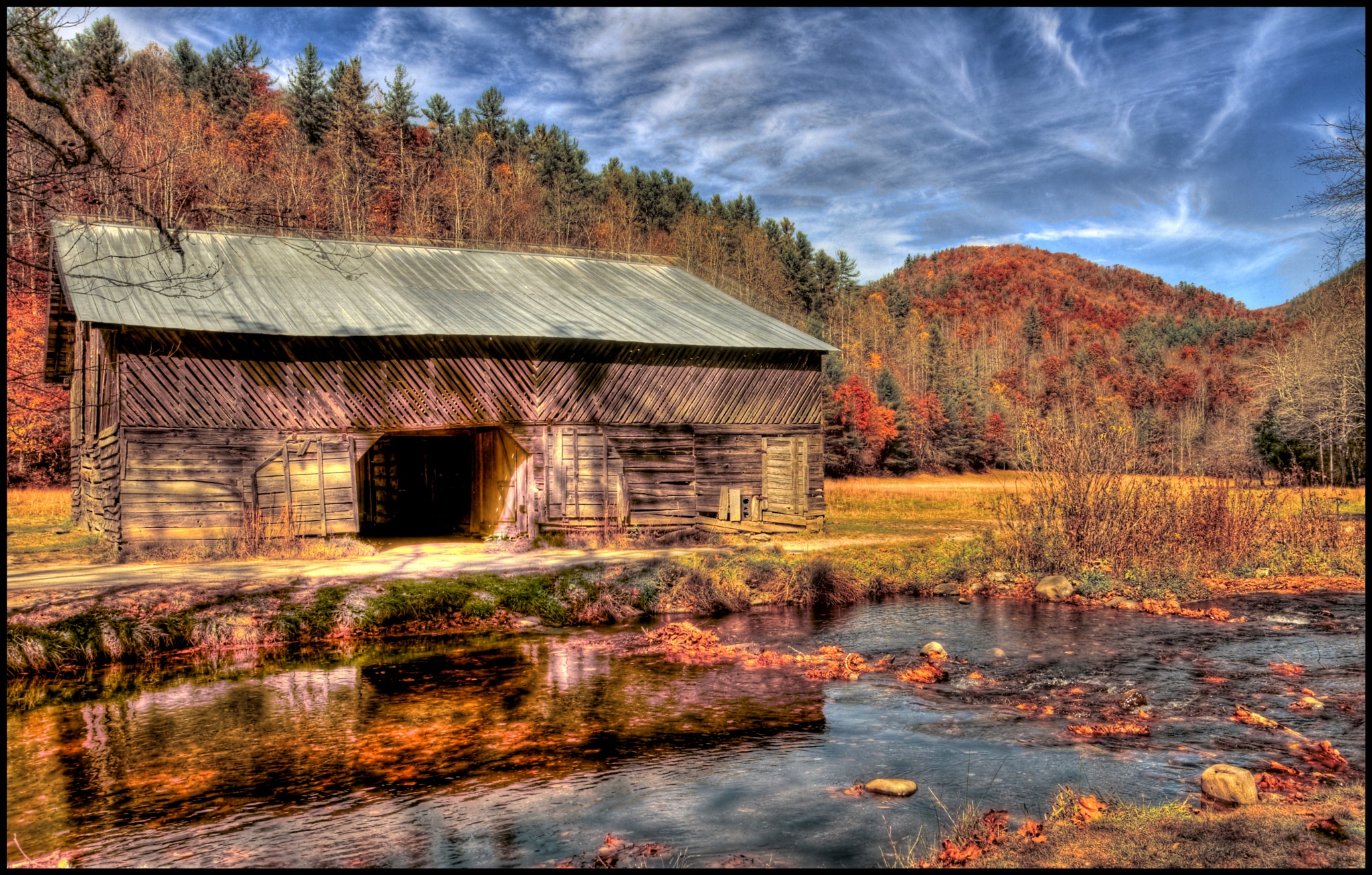 """""""Barn In The Valley"""" by PeterMichael"""