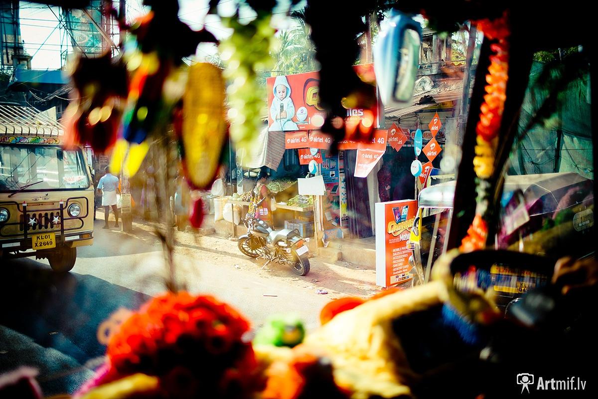 Photo in Street Photography #india #street #bus #window