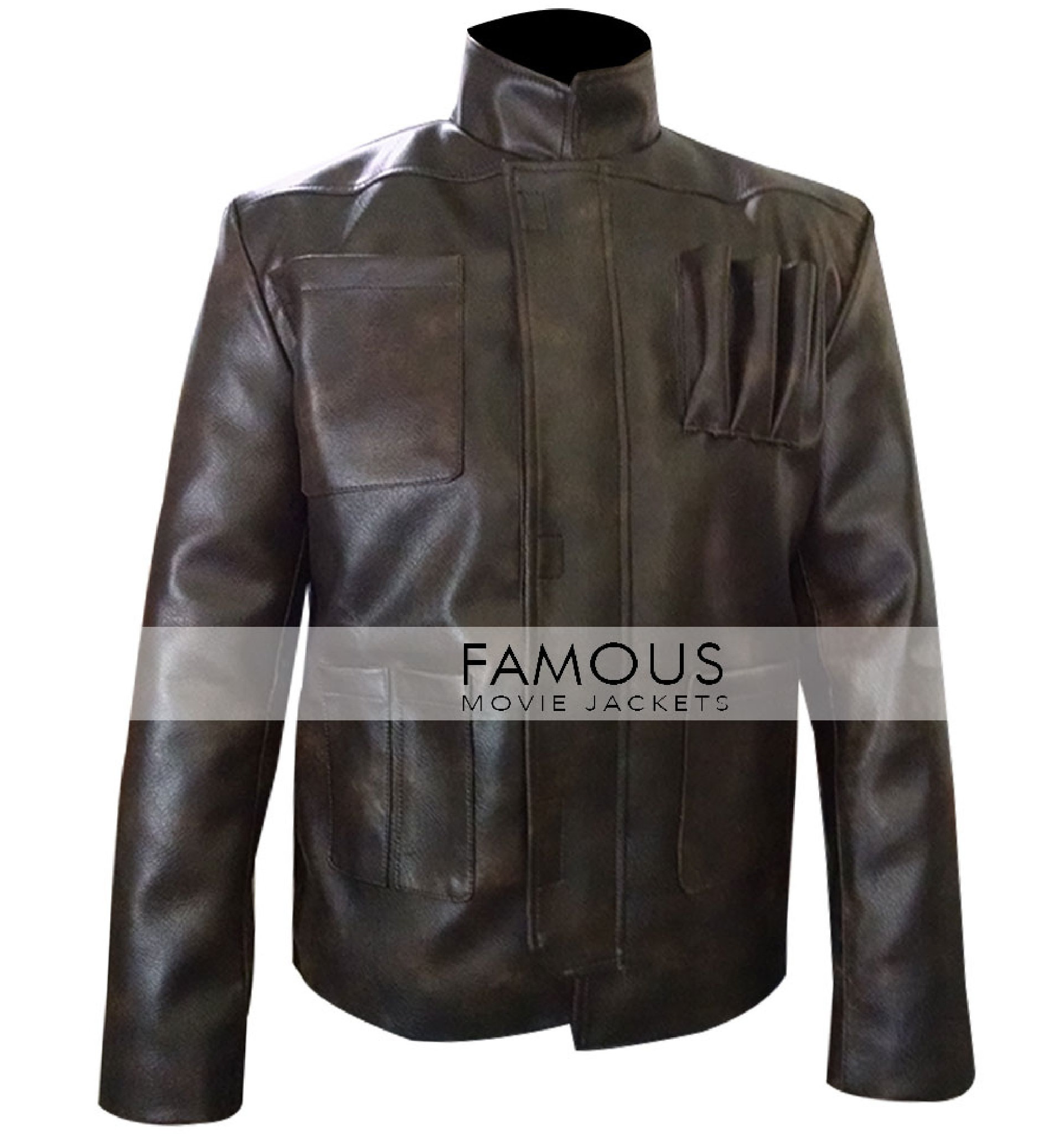 star wars force awakens han solo leather jacket by rickyjohnson