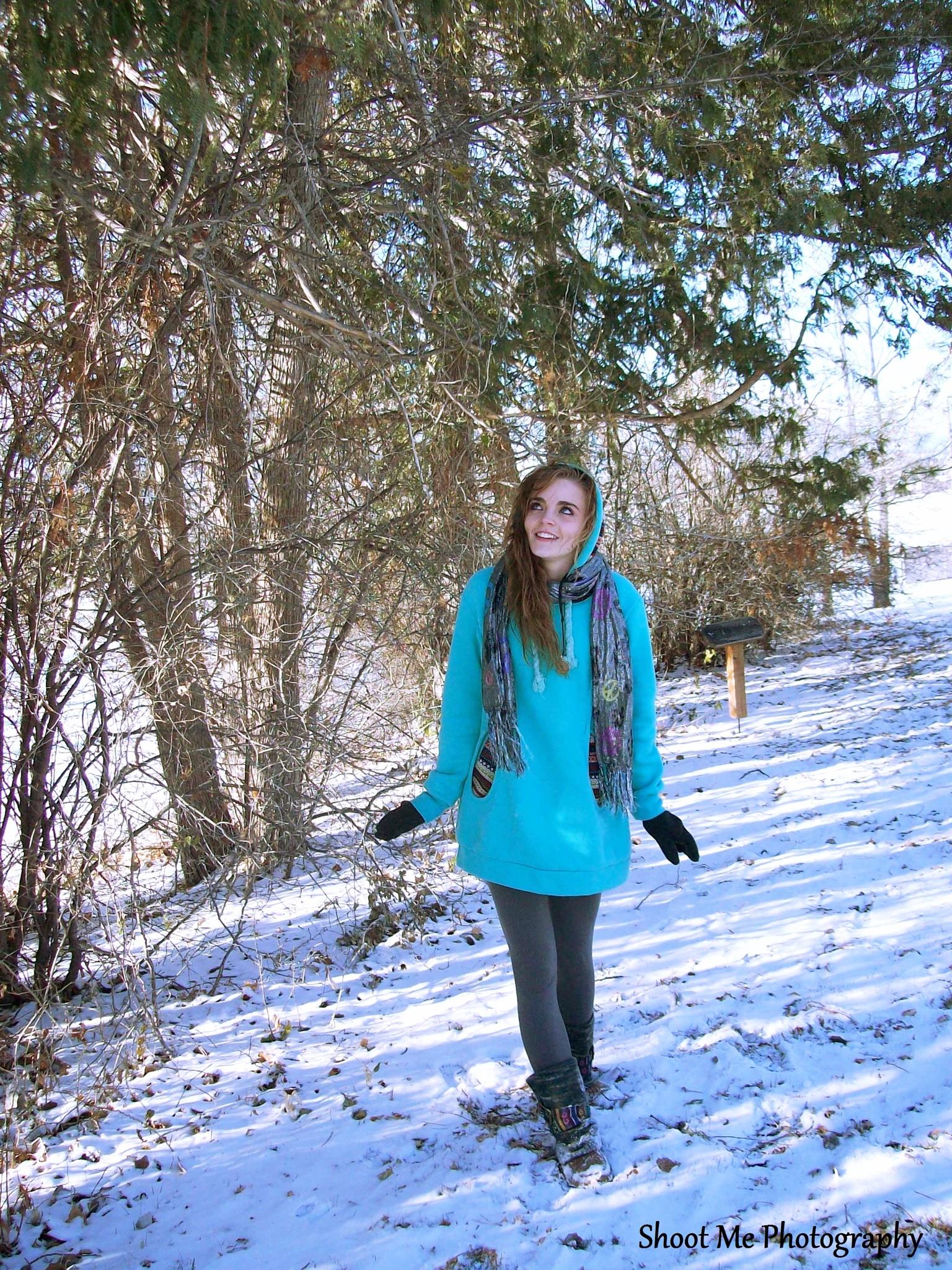 Walking In A Winter Wonderland by Kelsey Seana Allred