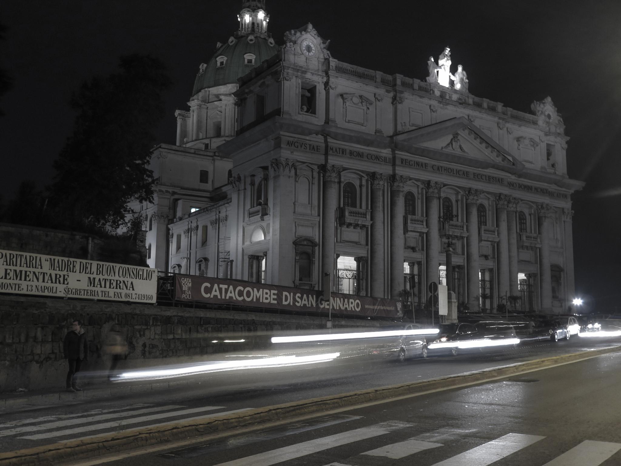 Photo in Cityscape #napoli #capodimonte #long exposure #try
