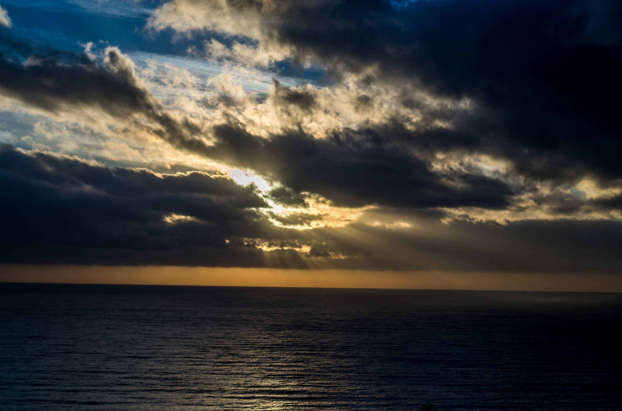 Ocean Sunset by ReaperScoob Photography